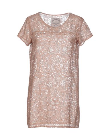 Фото - Женскую блузку PINK MEMORIES светло-коричневого цвета