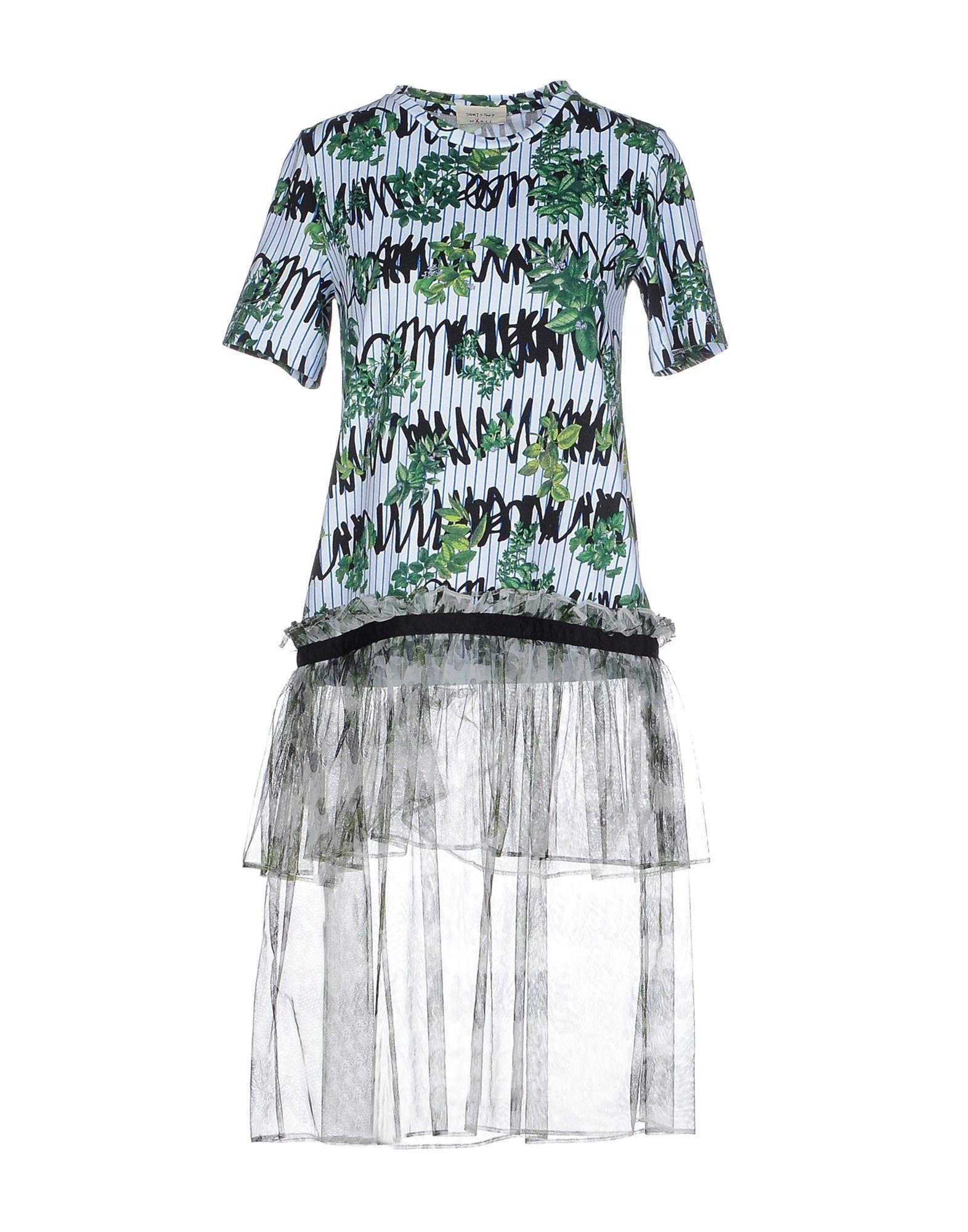 STEVE J & YONI P Платье до колена steve j