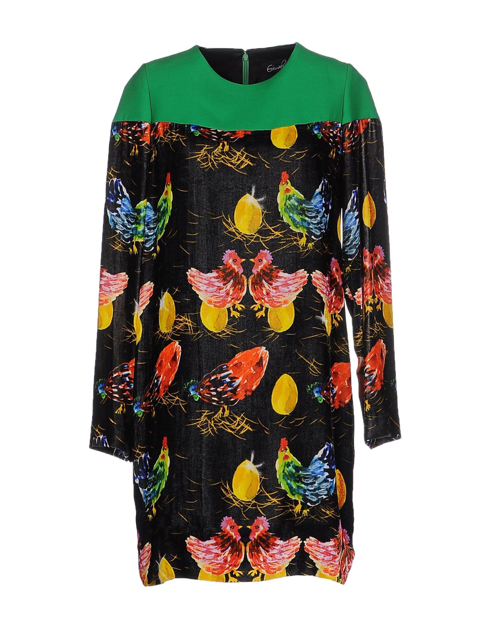 цена GIULIA ROSITANI Короткое платье онлайн в 2017 году