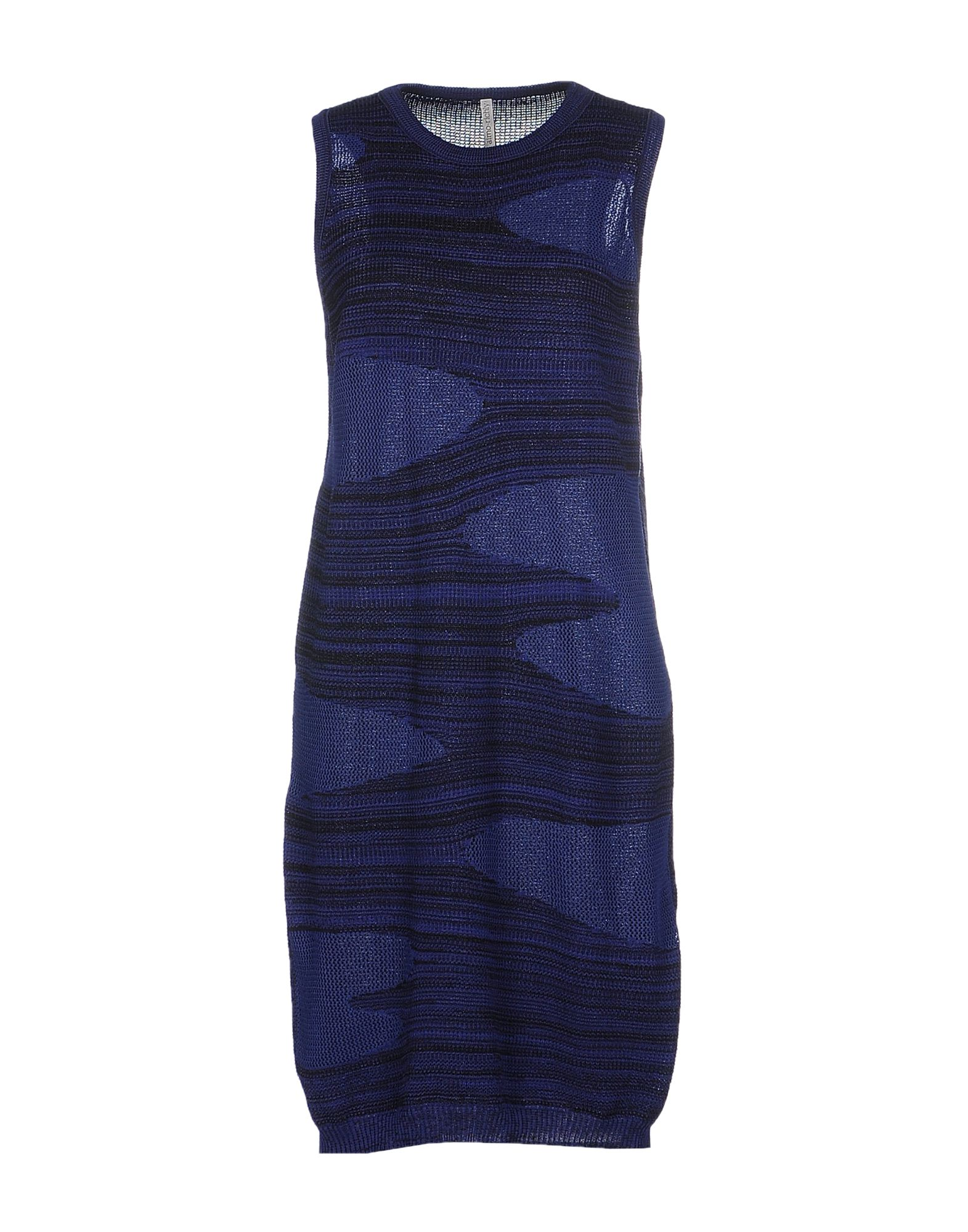 AIMO RICHLY Short Dress in Dark Purple