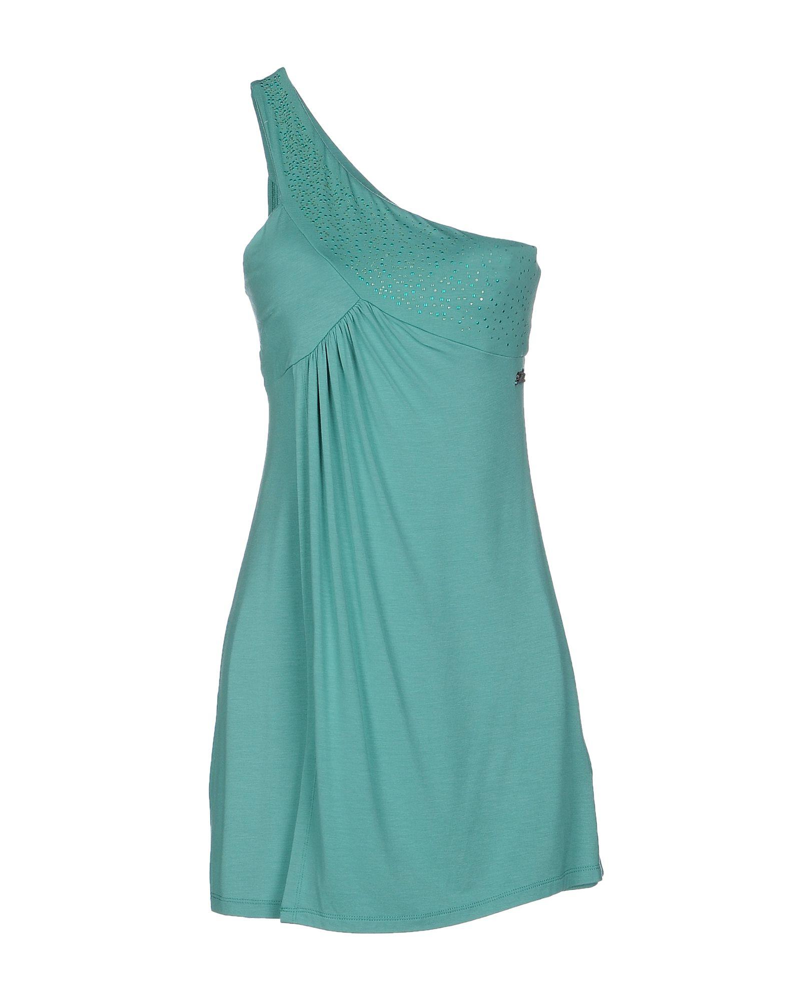 MET MIAMI COCKTAIL Damen Kurzes Kleid Farbe Säuregrün Größe 4