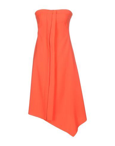 Фото - Женское короткое платье CEDRIC CHARLIER оранжевого цвета