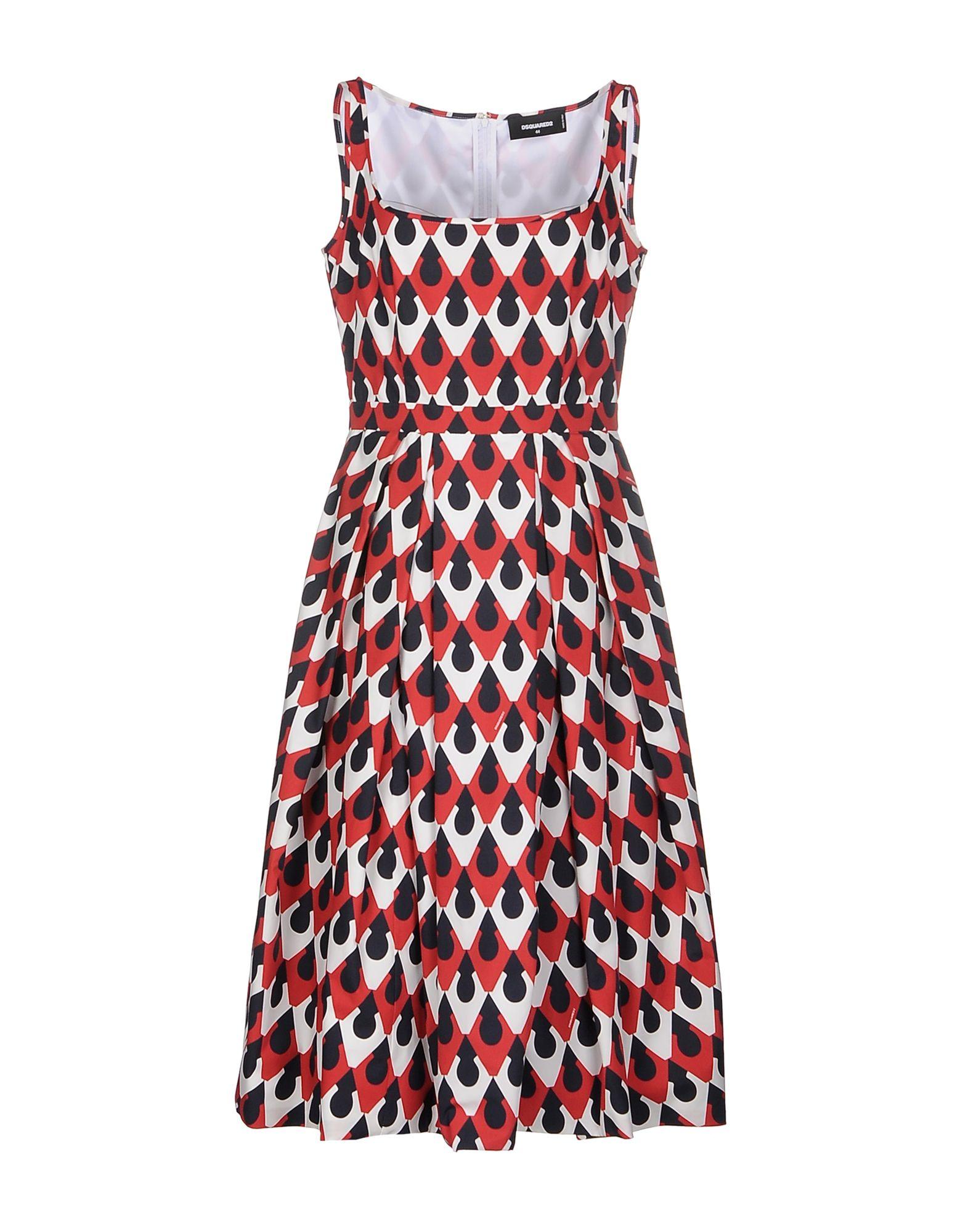 DSQUARED2 Платье длиной 3/4 lisa corti платье длиной 3 4