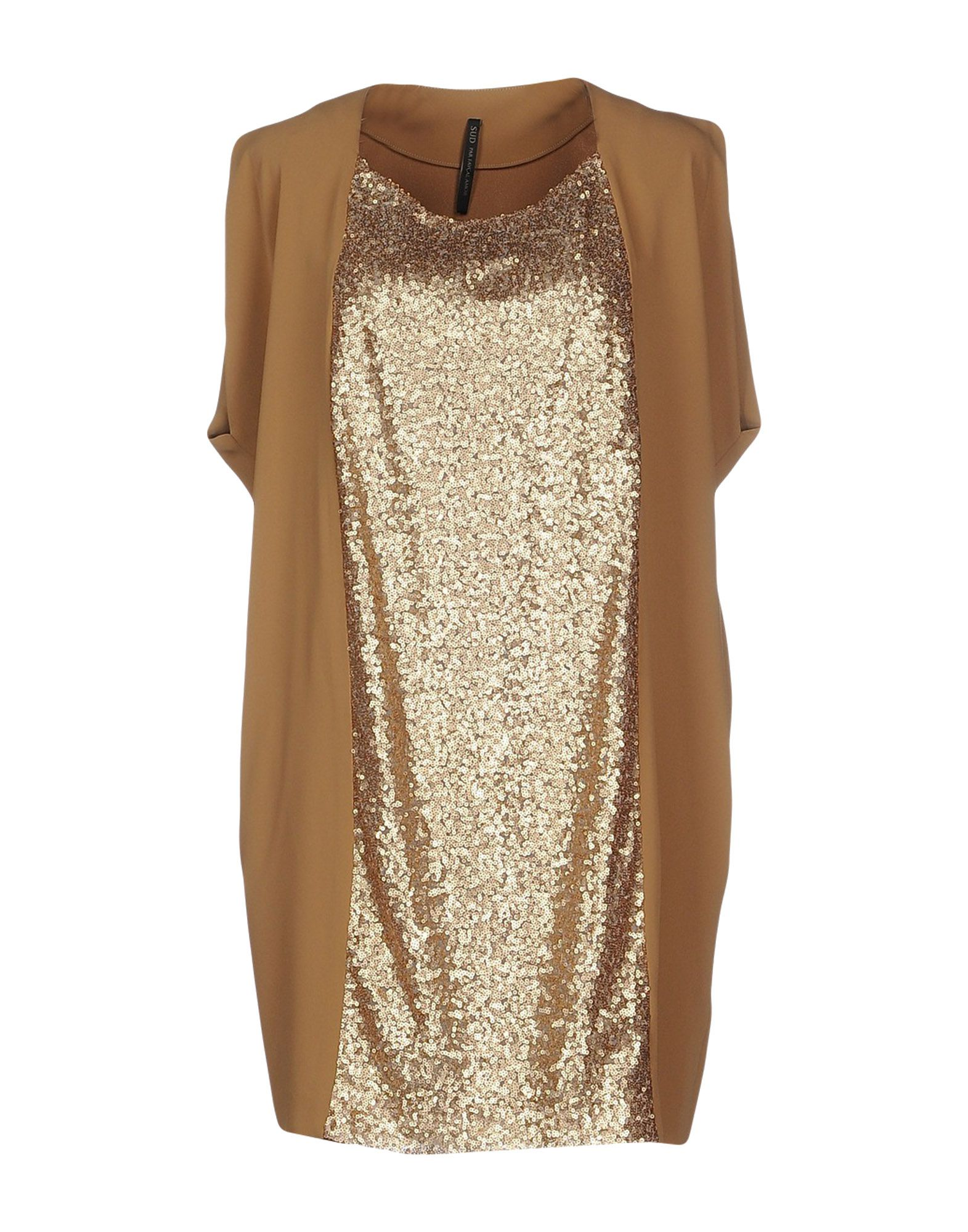 PLEIN SUD PAR FAYҪAL AMOR Короткое платье цены онлайн