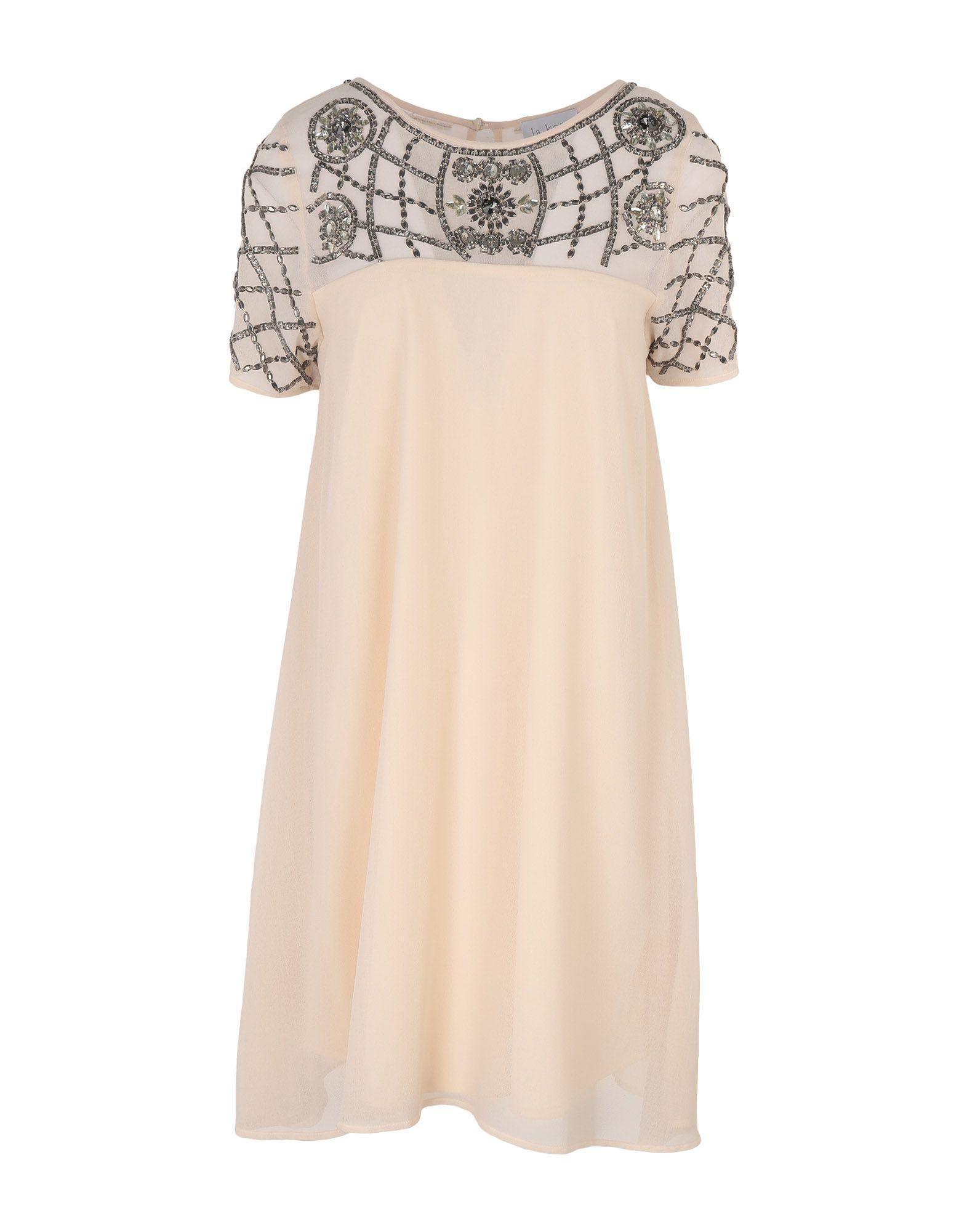 LA KORE Короткое платье foti la biellese короткое платье