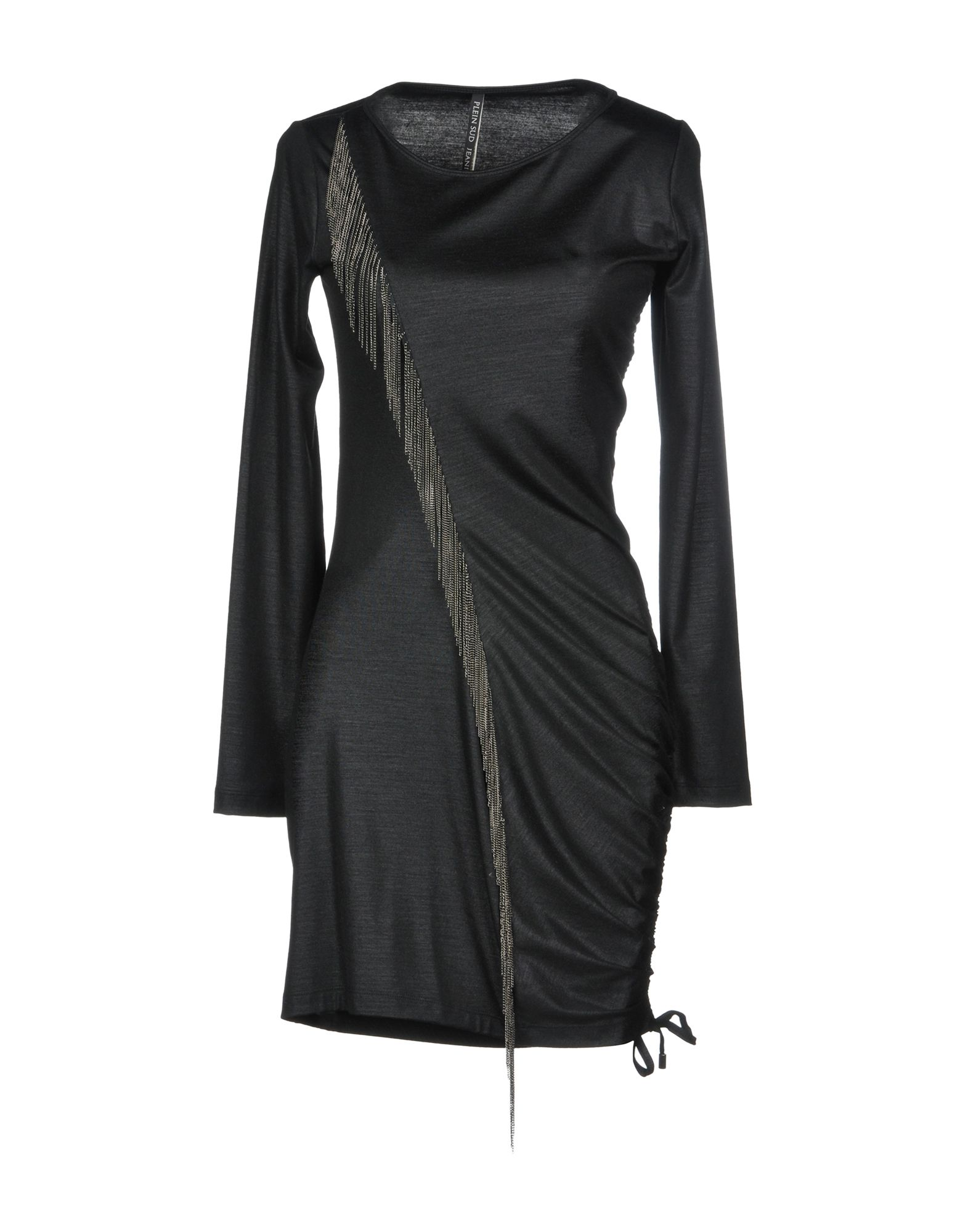PLEIN SUD Короткое платье plein sud платье с леопардовым принтом