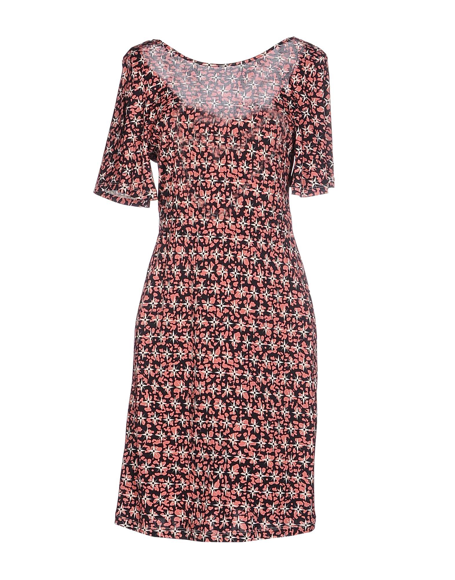 JUCCA Damen Kurzes Kleid Farbe Schwarz Größe 4