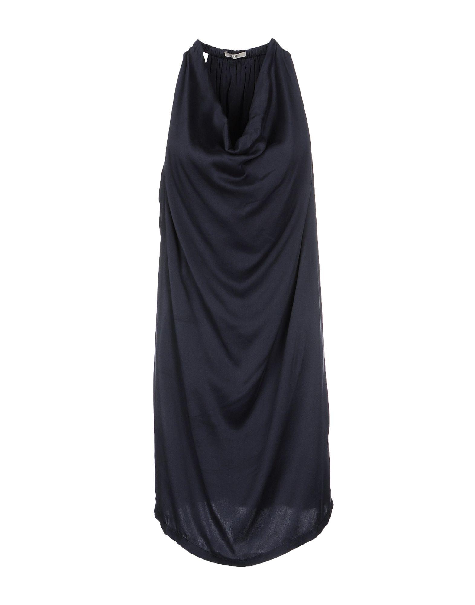 ALPHA STUDIO Короткое платье платье без рукавов printio семейная лодка