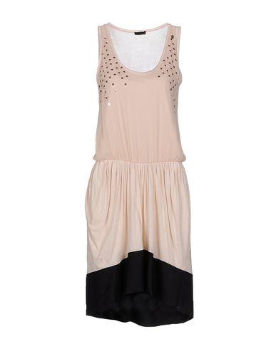 Фото - Женское короткое платье PINKO SKIN светло-розового цвета