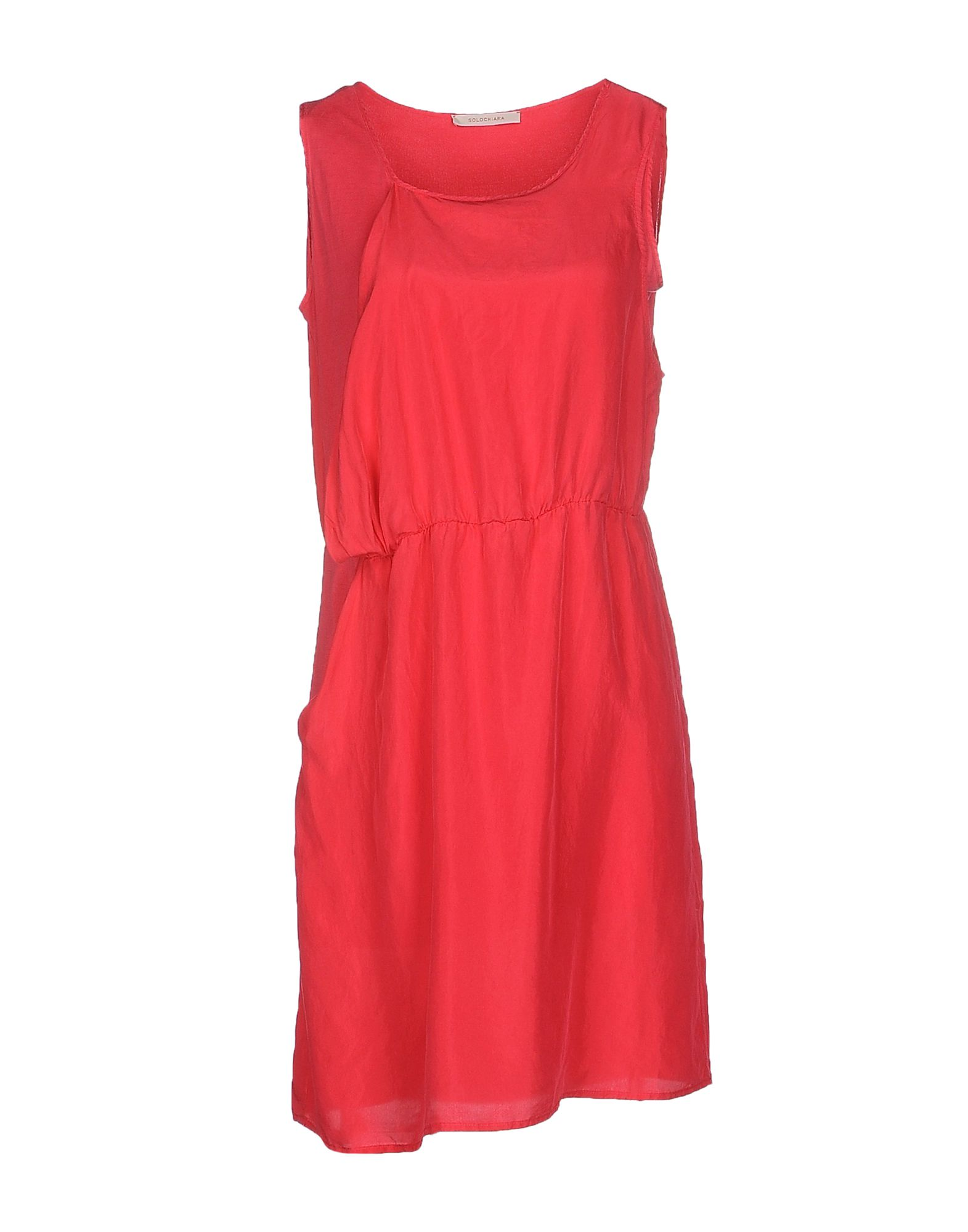 купить SOLOCHIARA Короткое платье по цене 5600 рублей