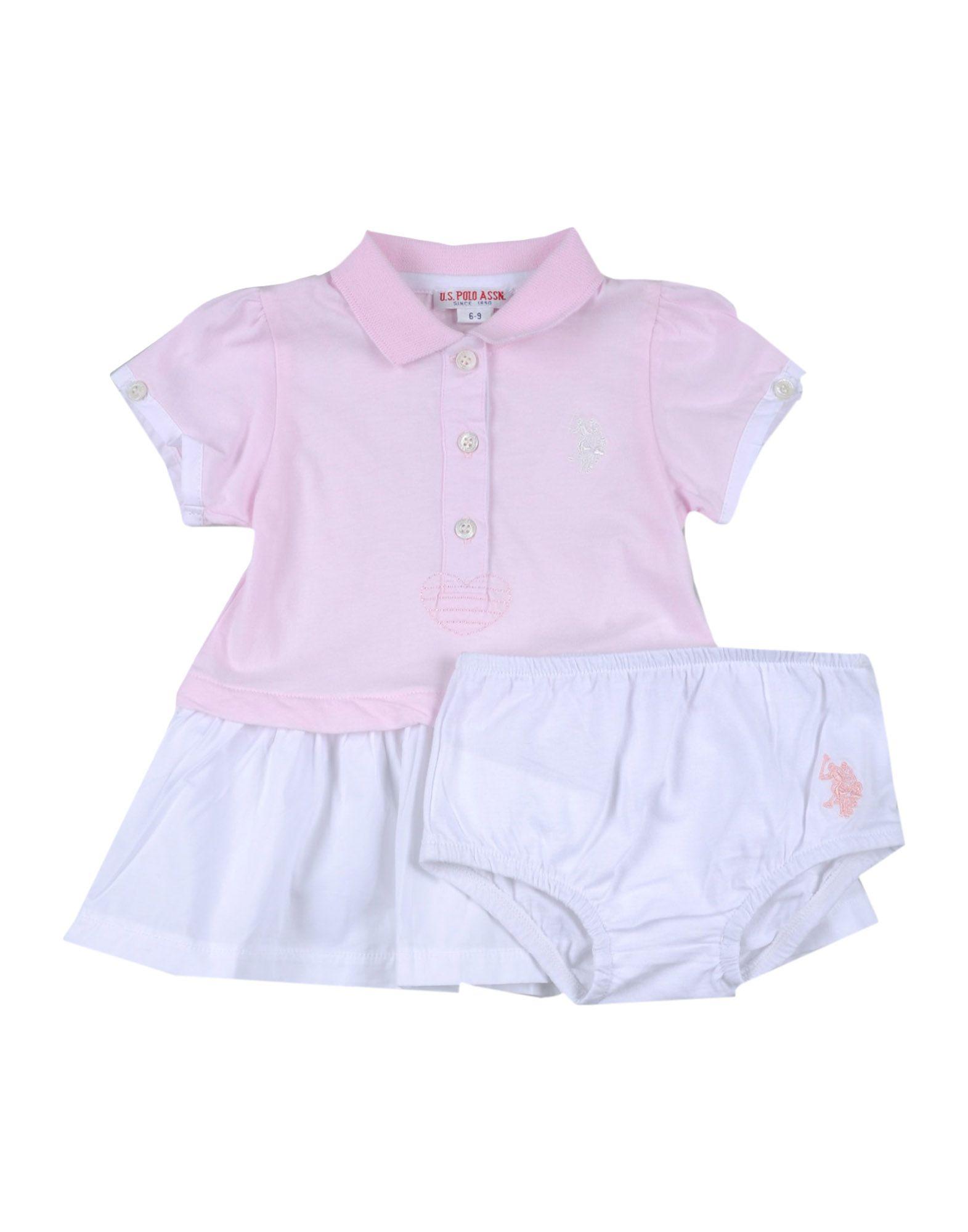 U.S.POLO ASSN. Mädchen 0-24 monate Kleid Farbe Rosa Größe 4
