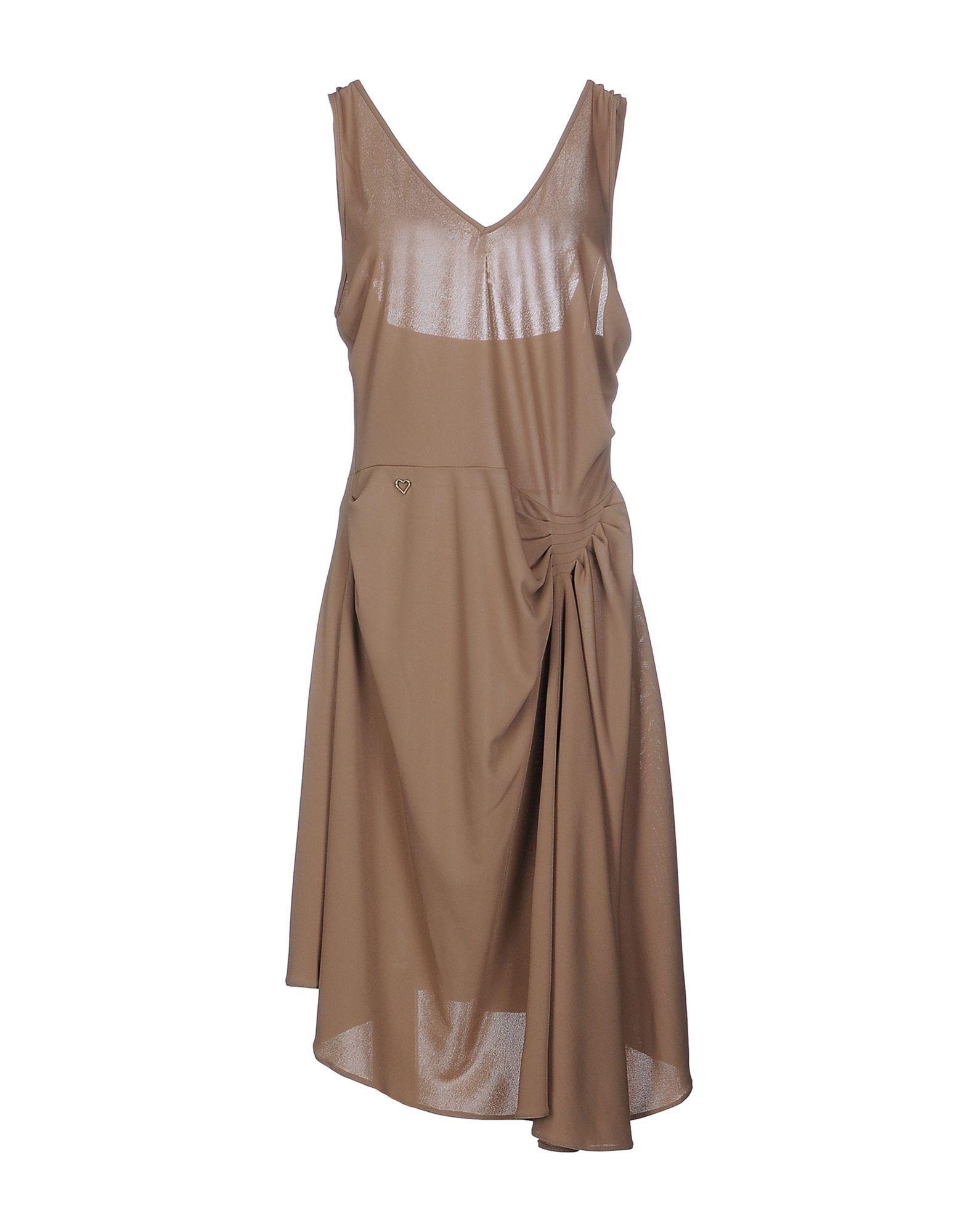 GALLIANO Платье до колена galliano короткое платье