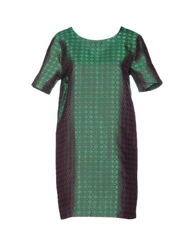 Фото - Женское короткое платье ODI ET AMO зеленого цвета