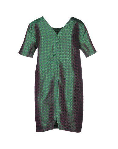 Фото 2 - Женское короткое платье ODI ET AMO зеленого цвета