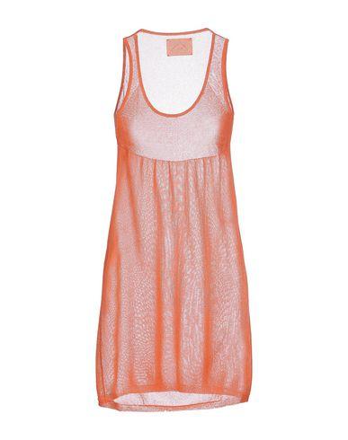 Фото 2 - Топ без рукавов от M.V. MAGLIERIA VENETA оранжевого цвета