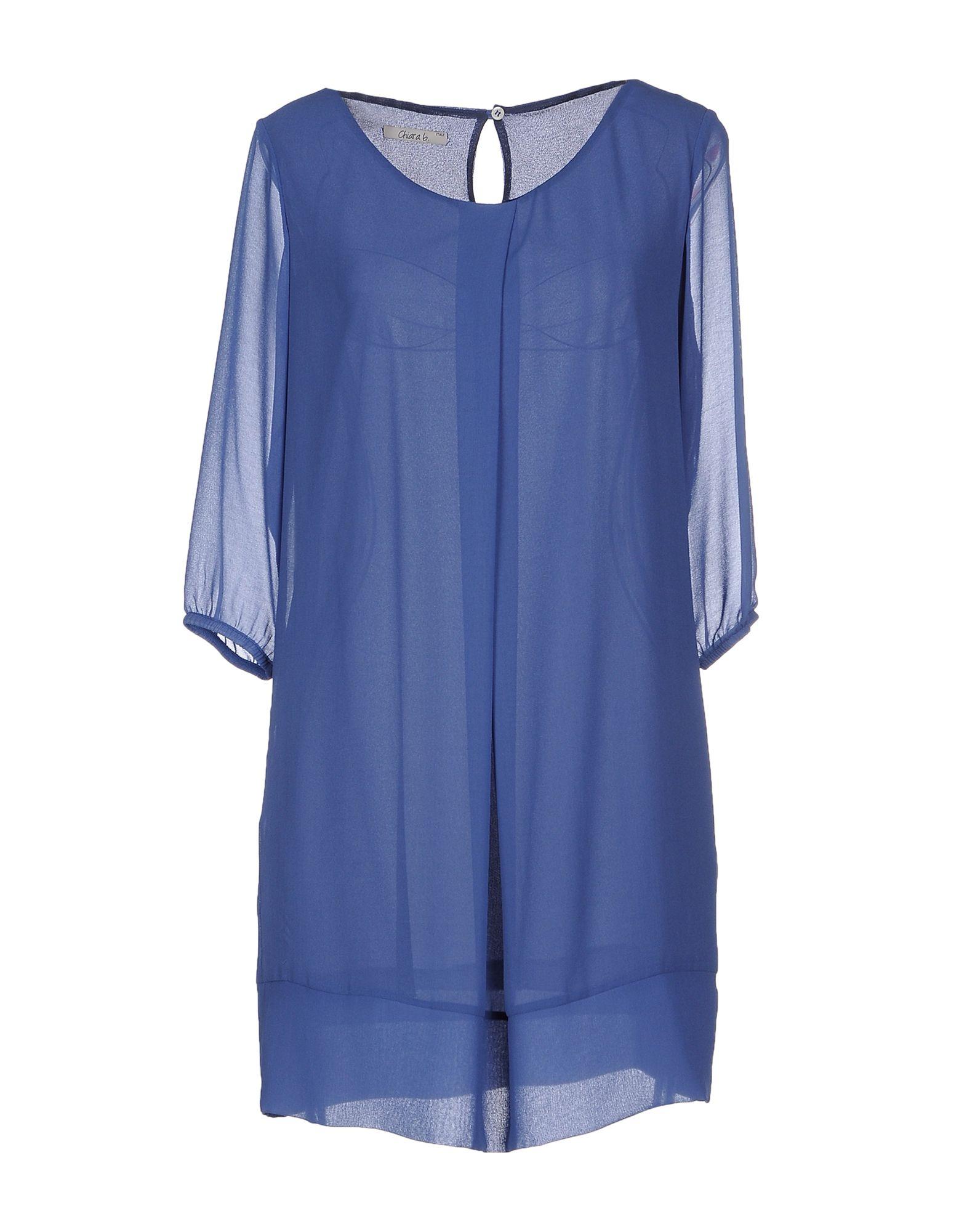 CHIARA B. Короткое платье b yu короткое платье