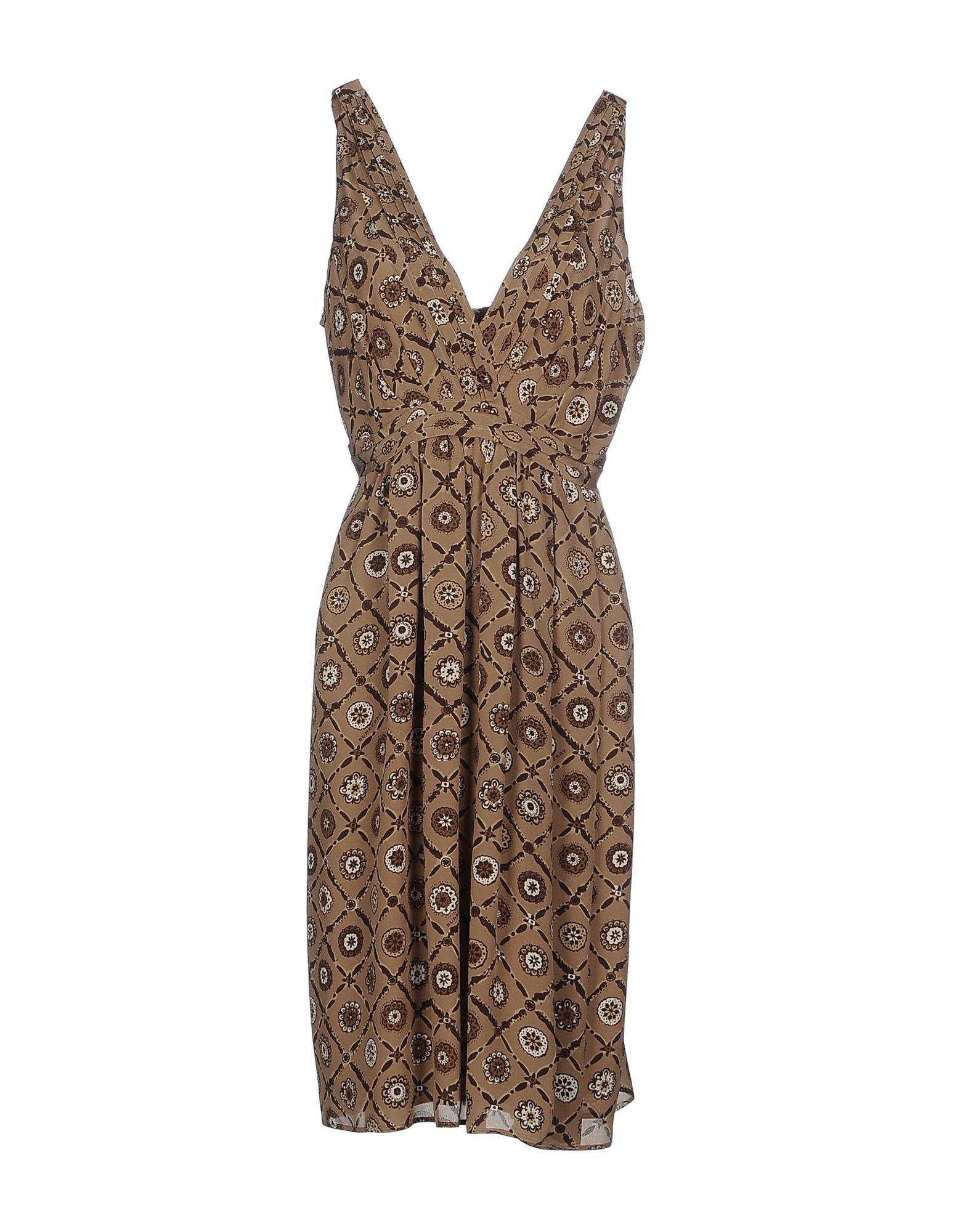 BURBERRY LONDON Платье до колена цена 2017