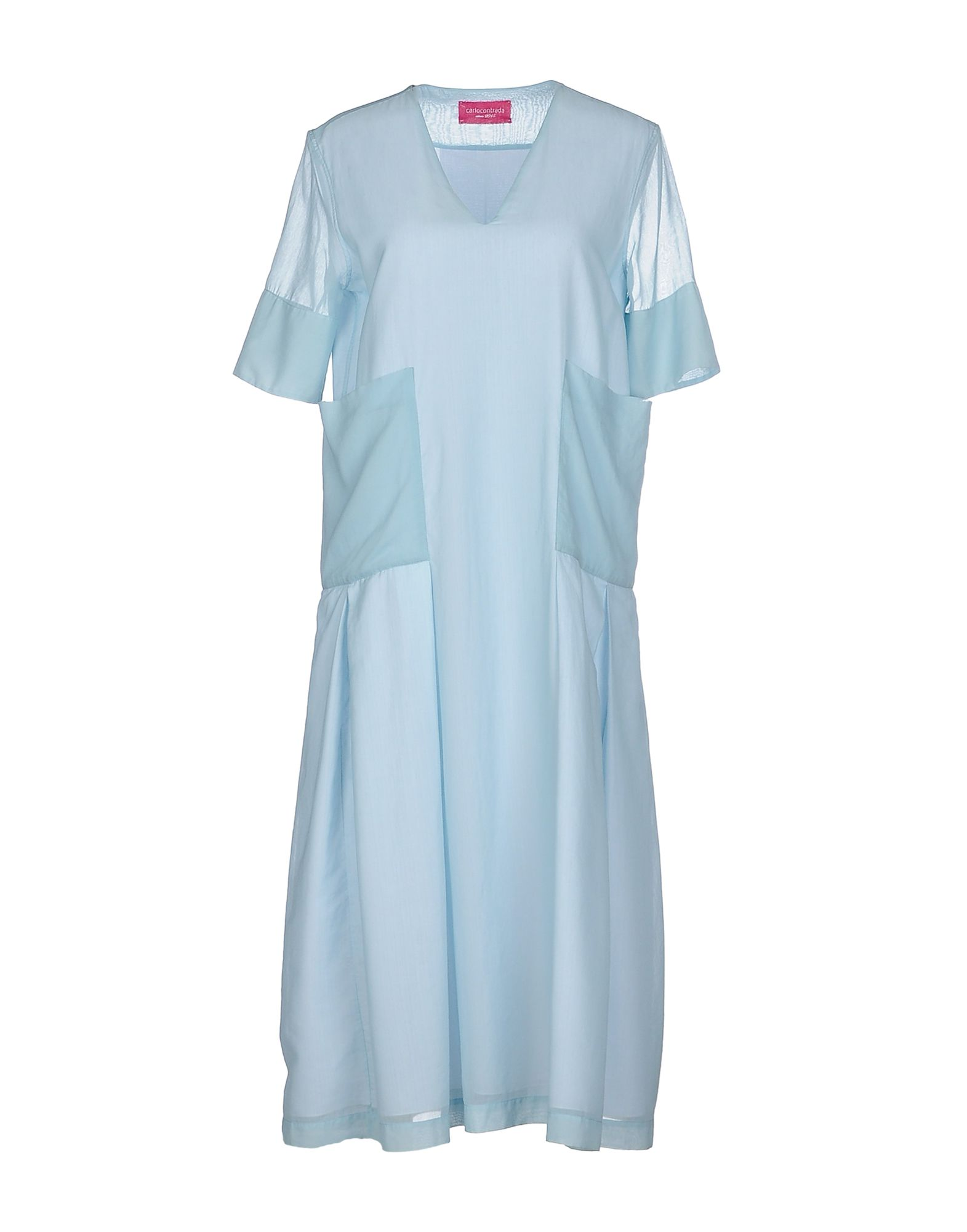 CARLO CONTRADA Платье длиной 3/4 carlo contrada юбка длиной 3 4