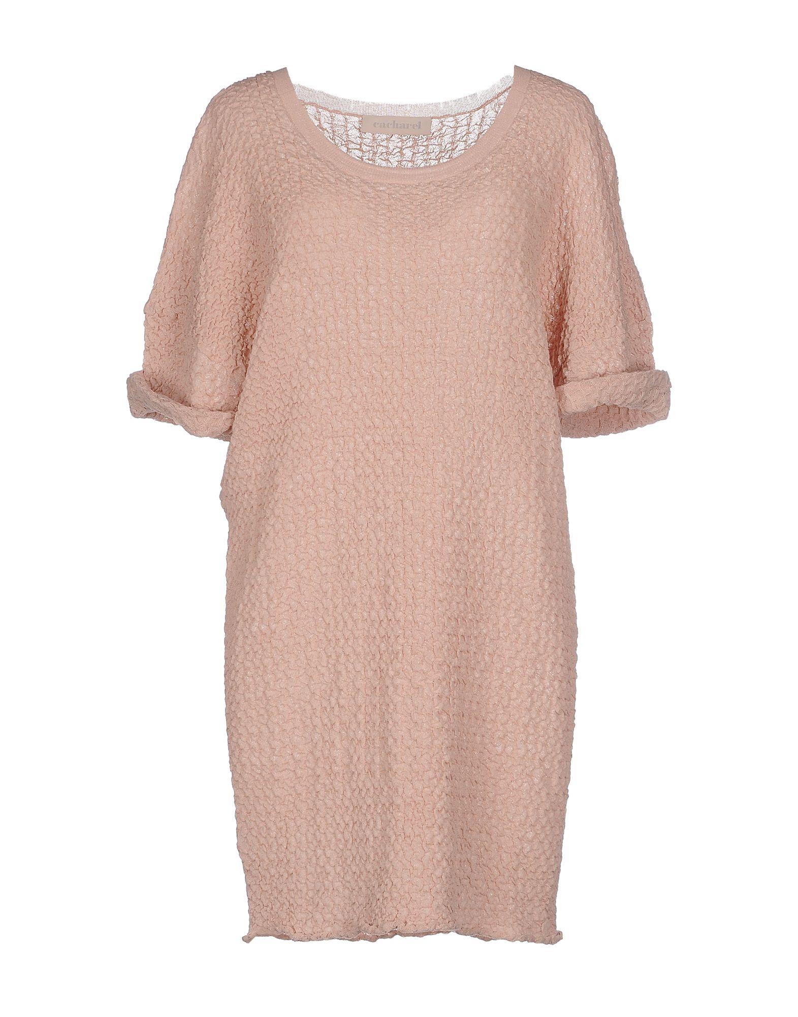 CACHAREL Короткое платье oglich короткое платье