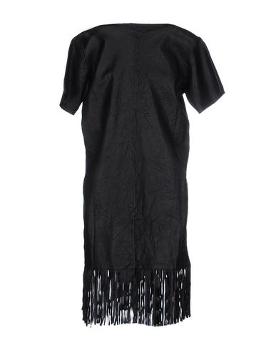 Фото 2 - Женское короткое платье RTA черного цвета
