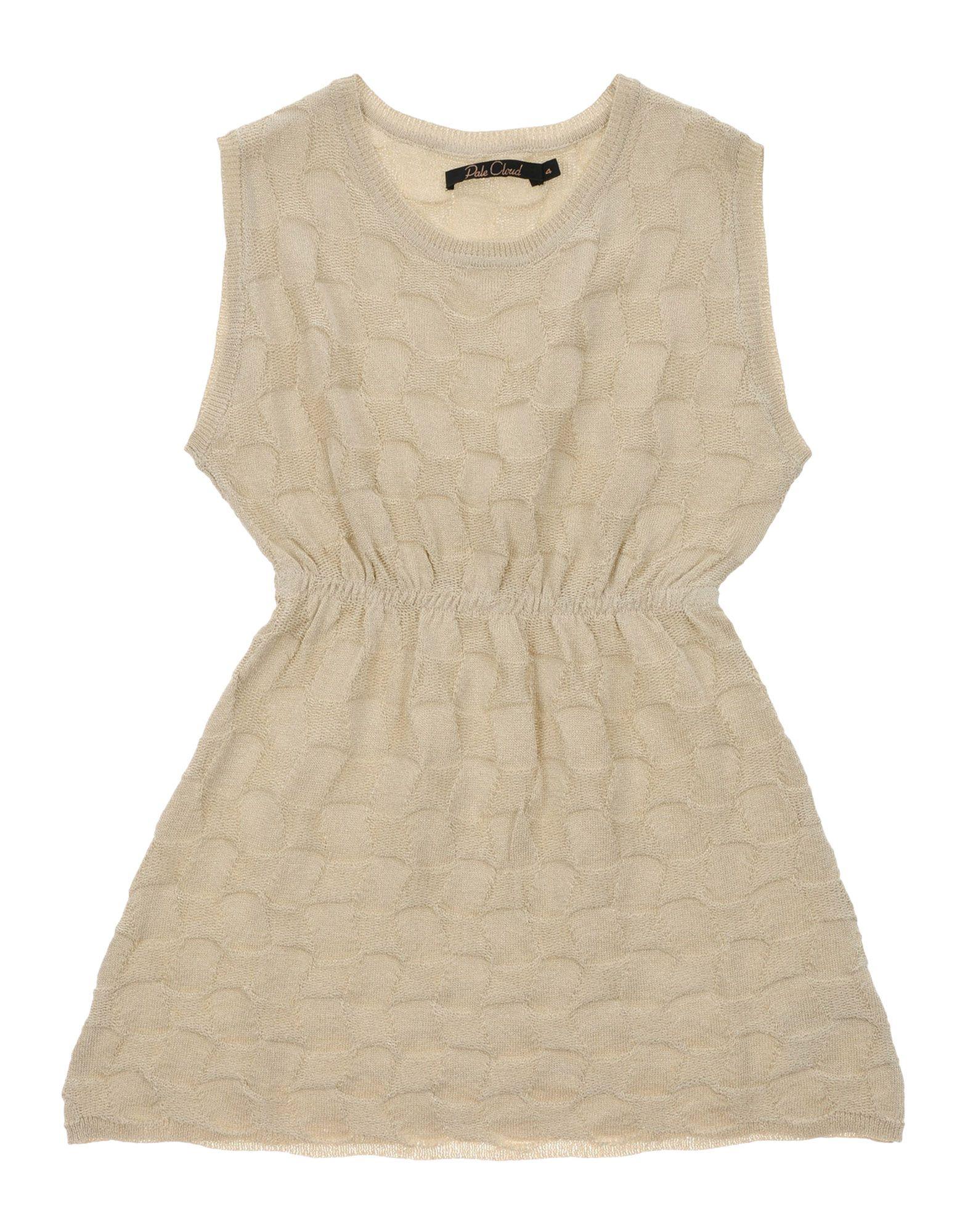 PALE CLOUD Mädchen 3-8 jahre Kleid Farbe Beige Größe 6