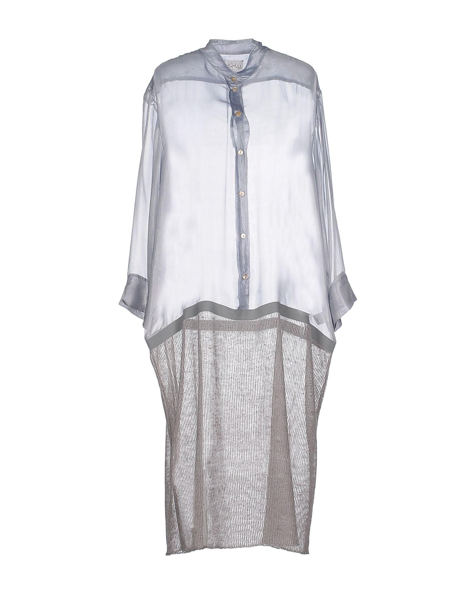 AVIÙ Платье до колена paolo casalini платье до колена