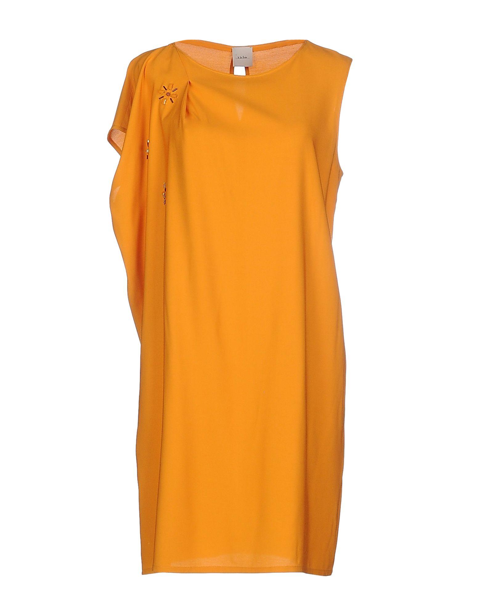...À_LA_FOIS... Короткое платье nikamo короткое платье