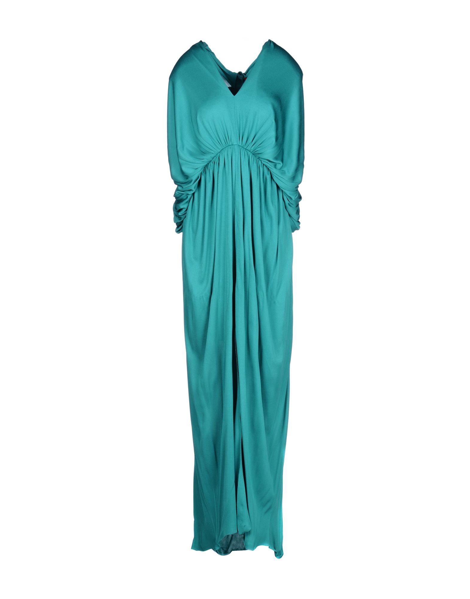 LANVIN Длинное платье платье короткое спереди длинное сзади летнее