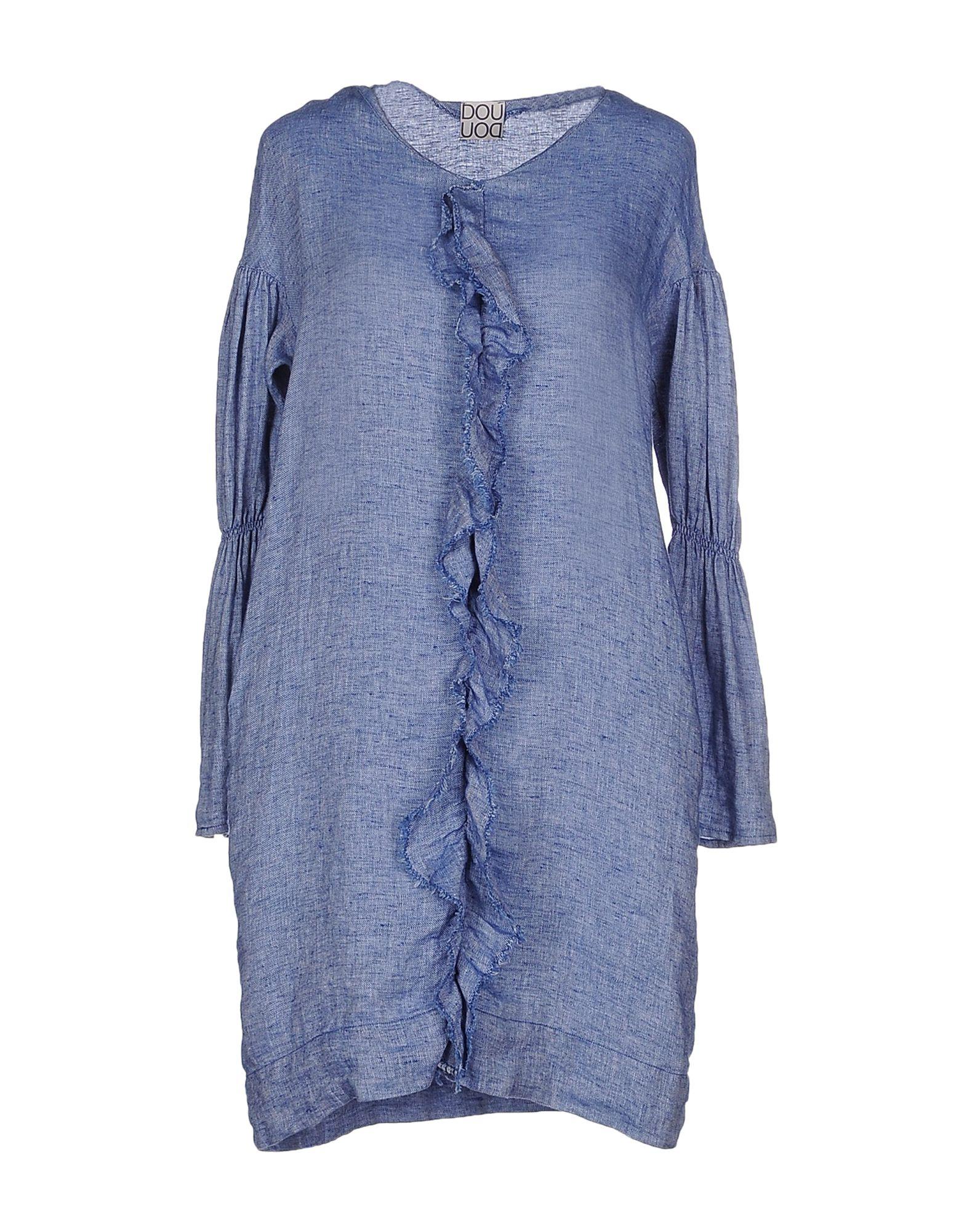 DOUUOD Short Dress in Blue