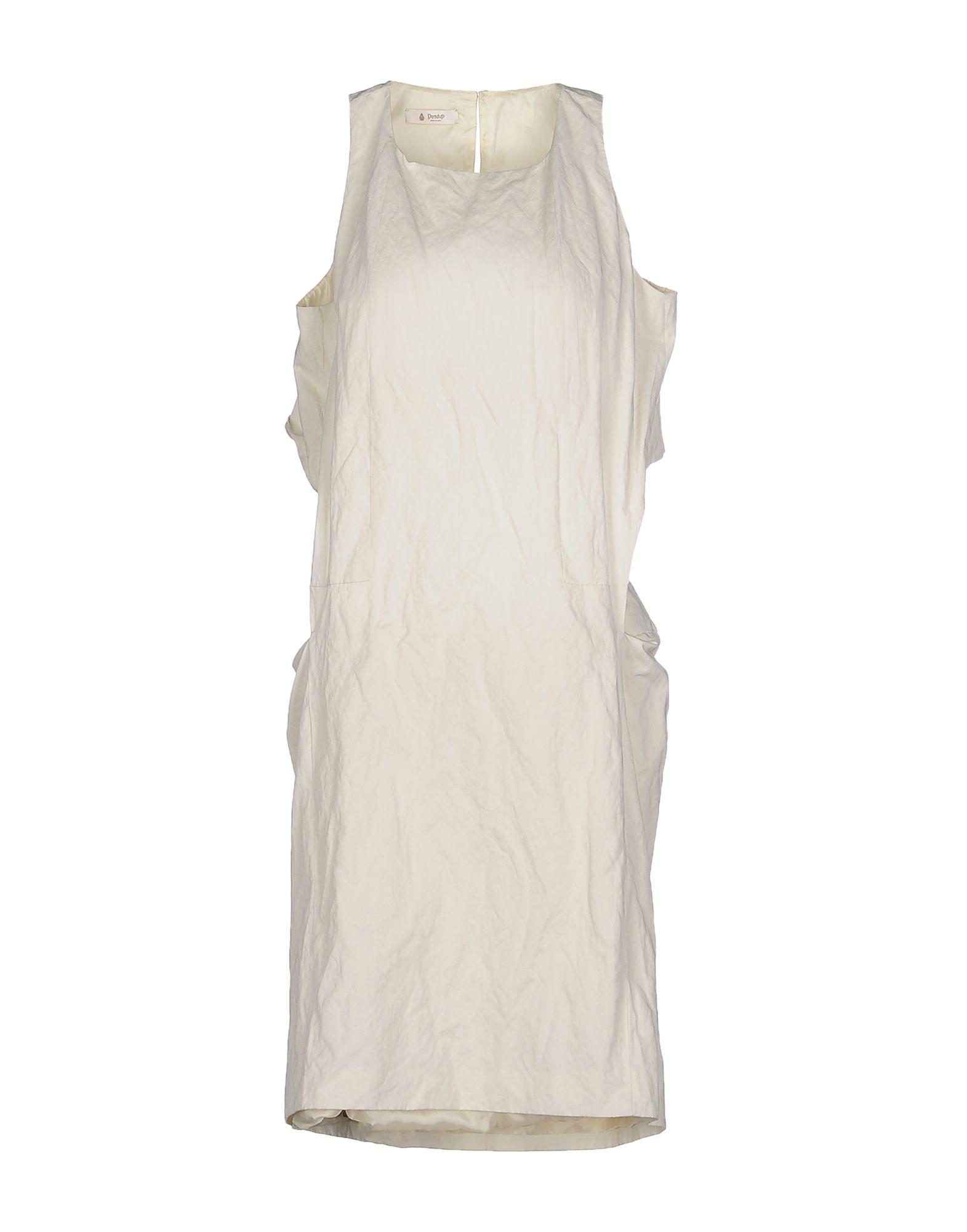 DONDUP Платье до колена paolo casalini платье до колена