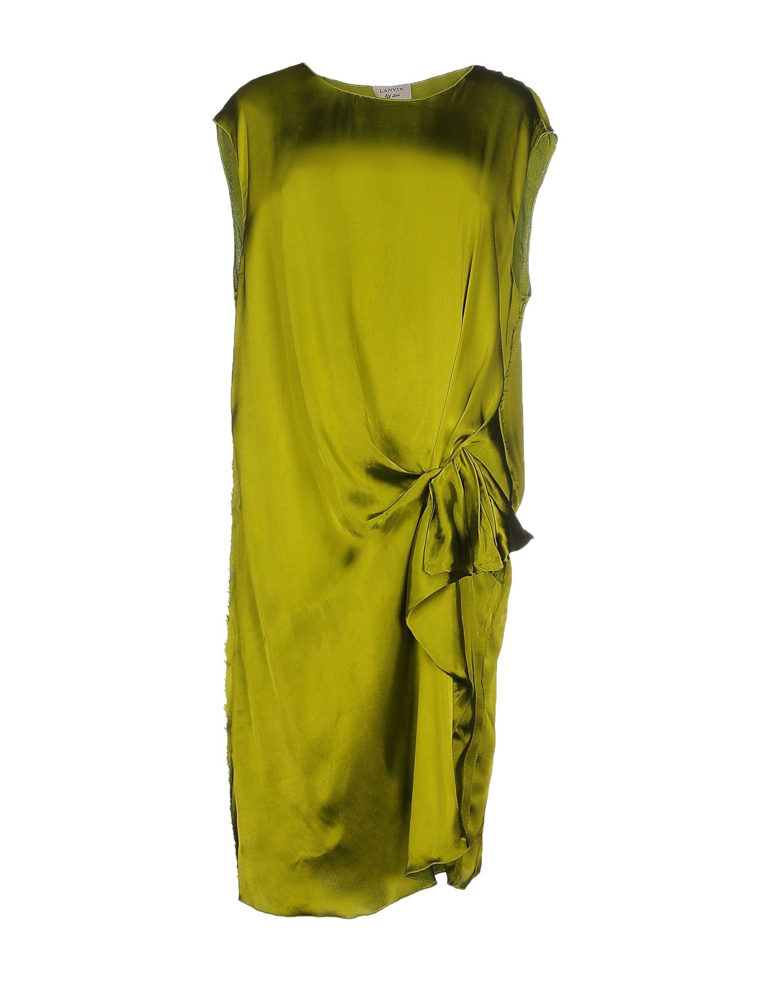 LANVIN Платье до колена lanvin платье до колена