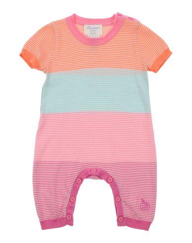 YOOX.COM(ユークス)BONNIE BABY ガールズ 0-24 ヶ月 乳幼児用ロンパース ピンク 12 オーガニックコットン 100%