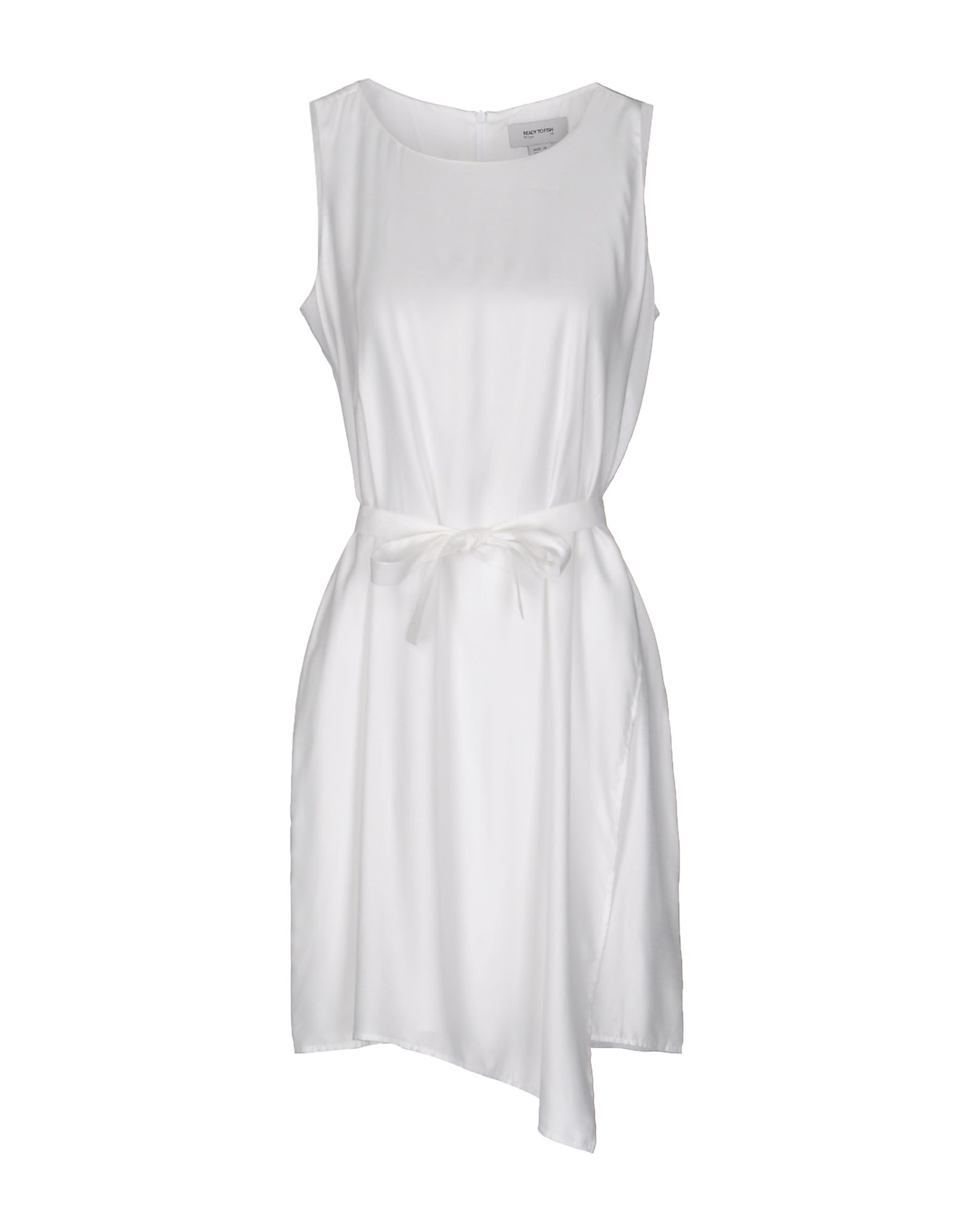 READY TO FISH BY ILJA Short Dresses in White