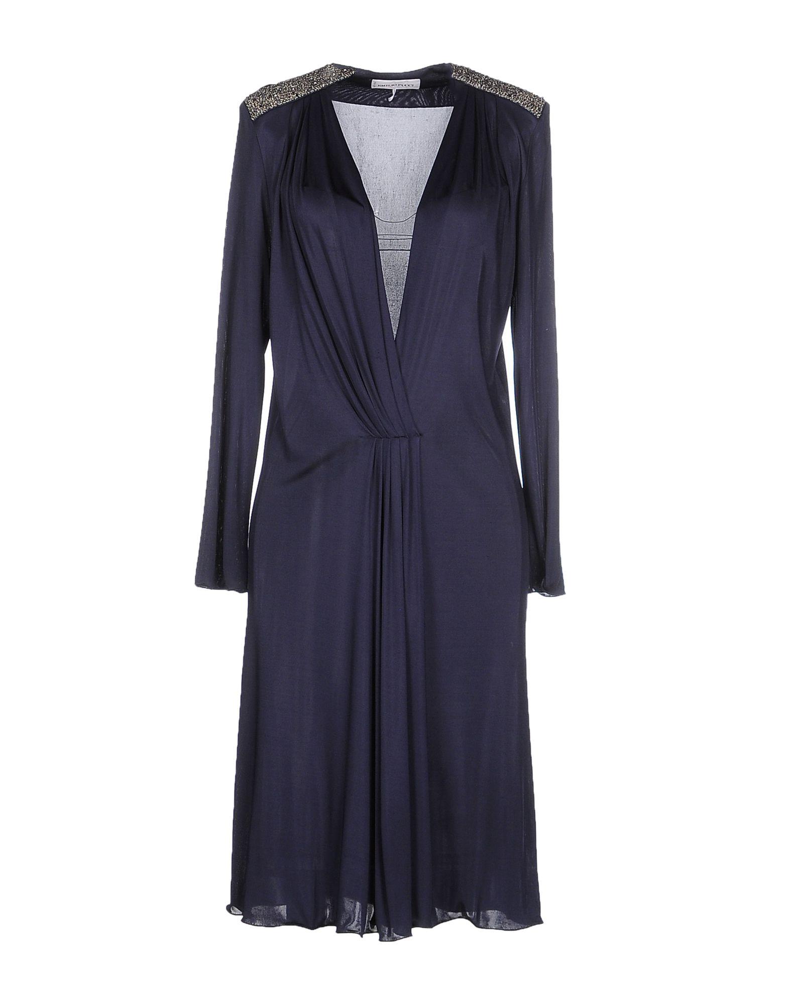 цены на EMILIO PUCCI Платье до колена в интернет-магазинах