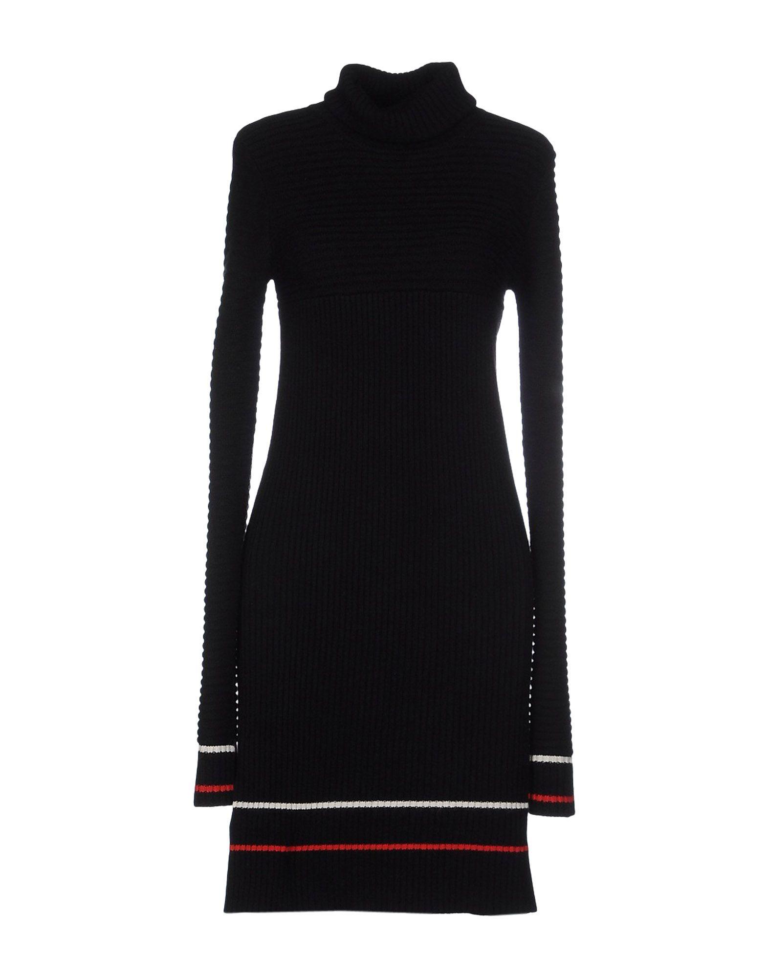 GF FERRE' Короткое платье прилегающее платье с длинными рукавами gf ferre