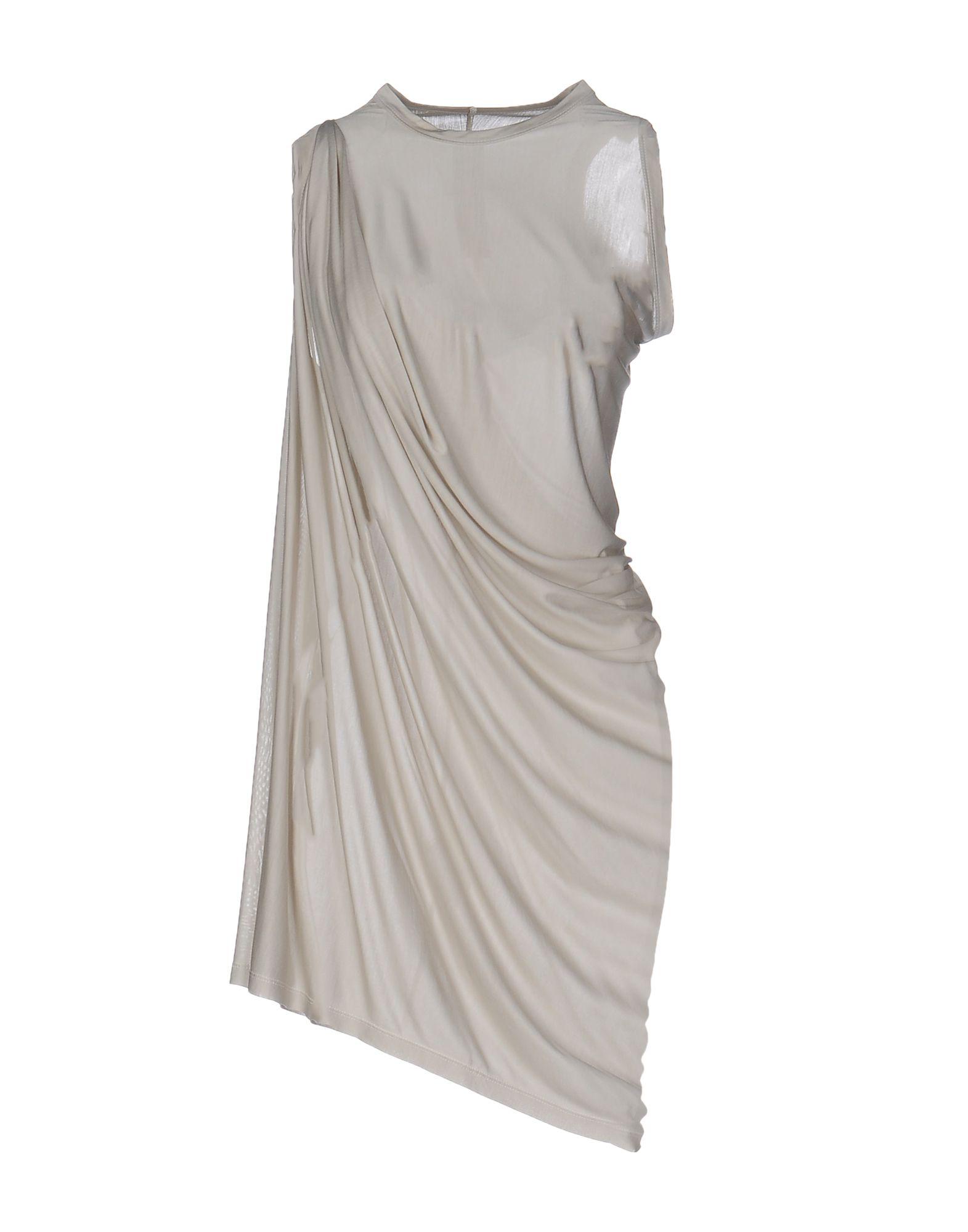 RICK OWENS Короткое платье платье