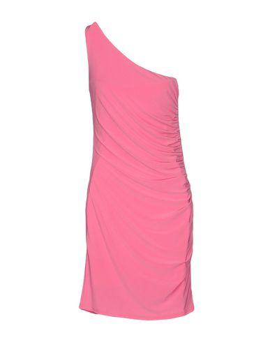 Фото 2 - Женское короткое платье JOLIE CARLO PIGNATELLI розового цвета