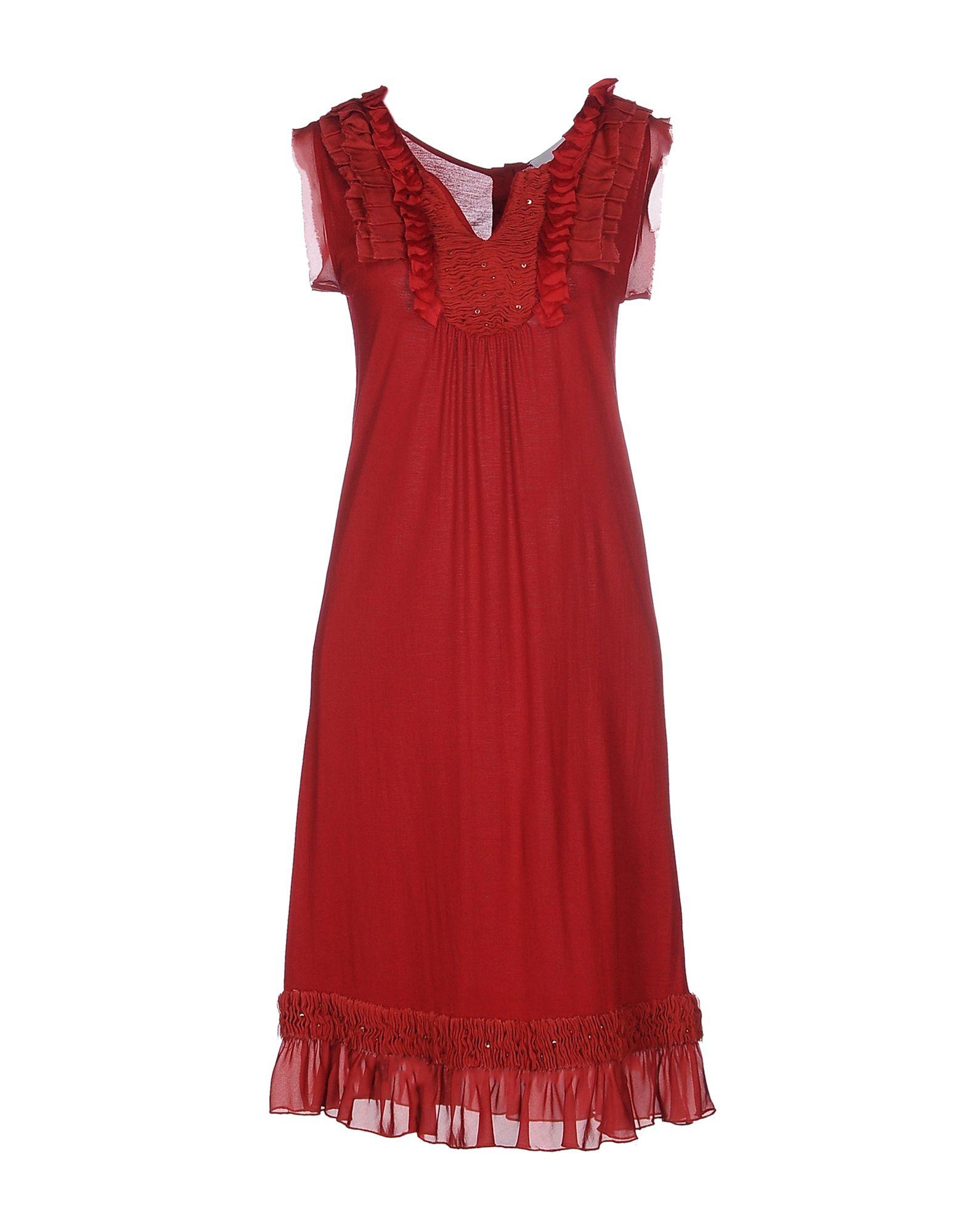 MASSIMO REBECCHI Платье до колена цена 2017