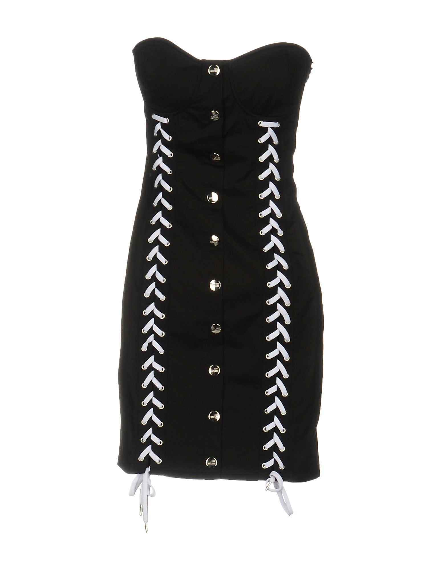 LOVE MOSCHINO Короткое платье makoday шерстяное платье футляр