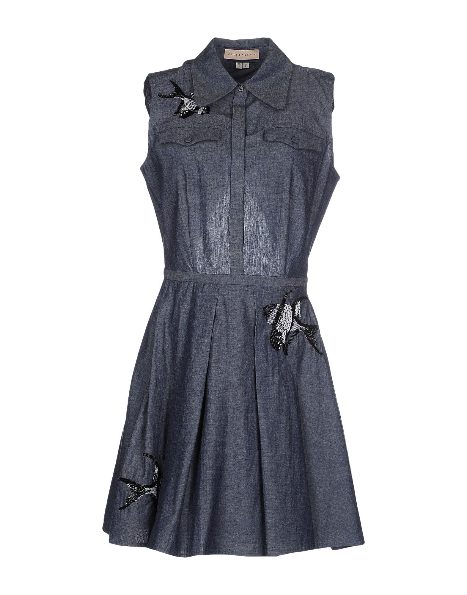 ELLE SASSON Короткое платье sasson jean desert royal