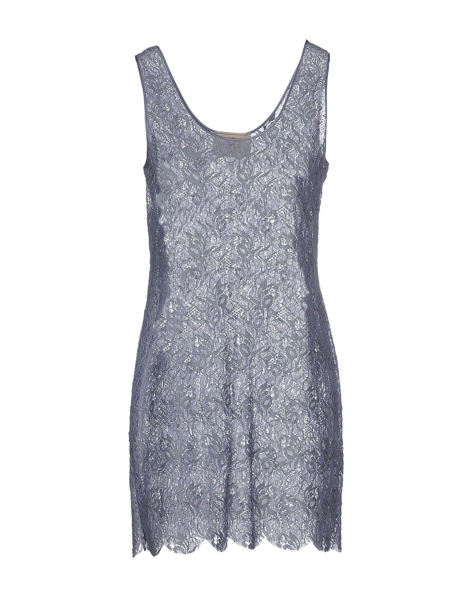 ANIYE BY Damen Kurzes Kleid Farbe Taubenblau Größe 6
