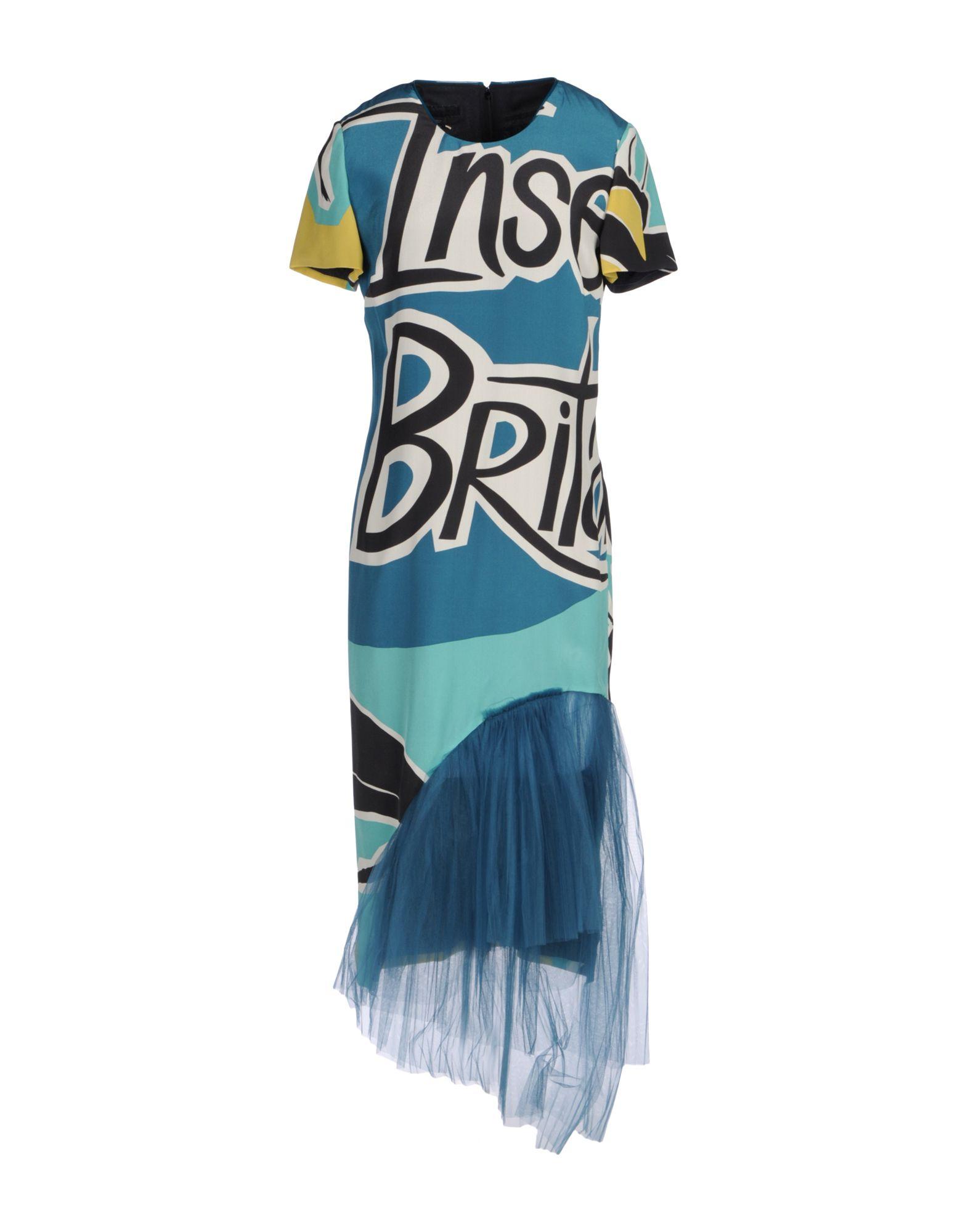BURBERRY Платье длиной 3/4 burberry кружевное платье