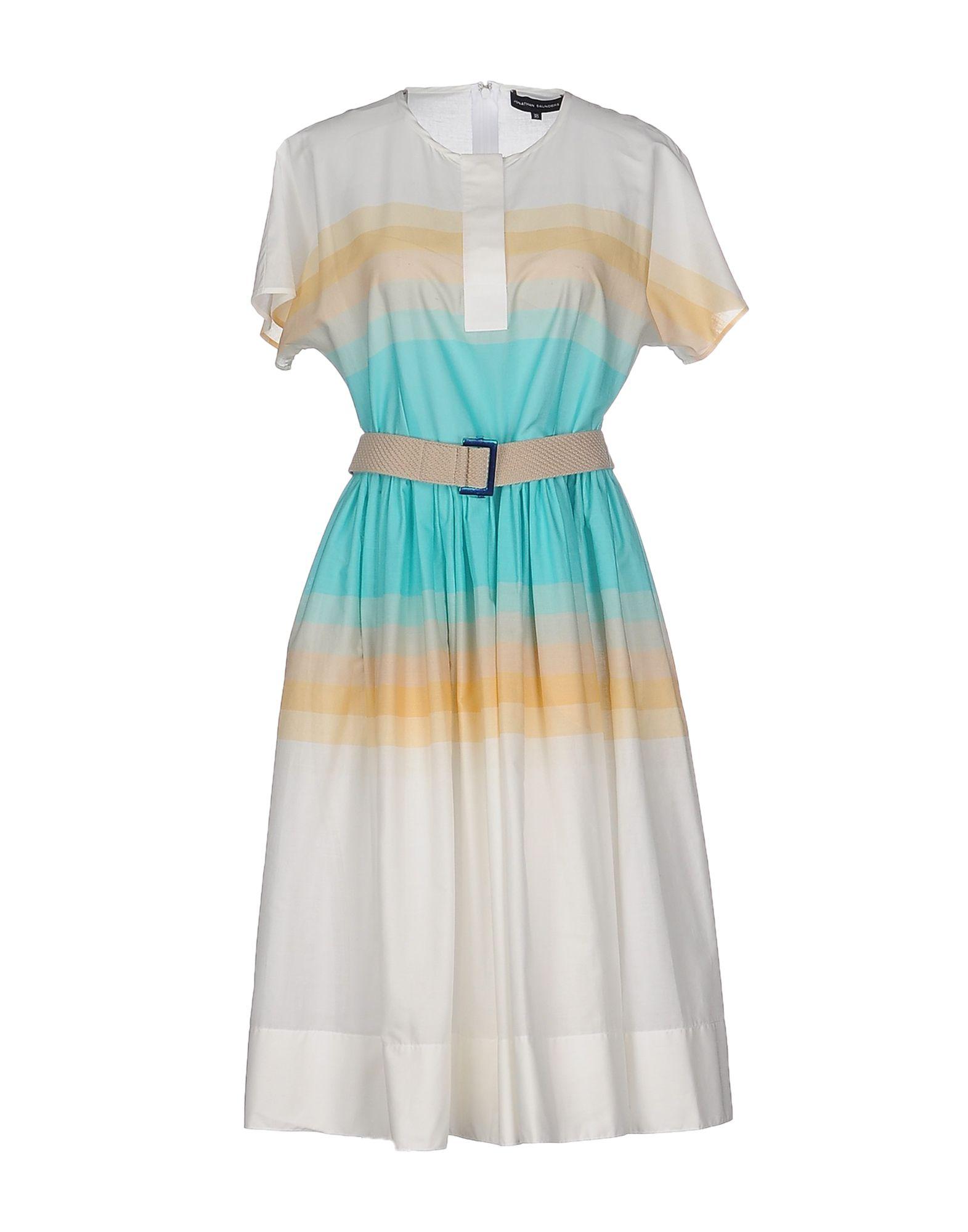 где купить  JONATHAN SAUNDERS Платье до колена  по лучшей цене