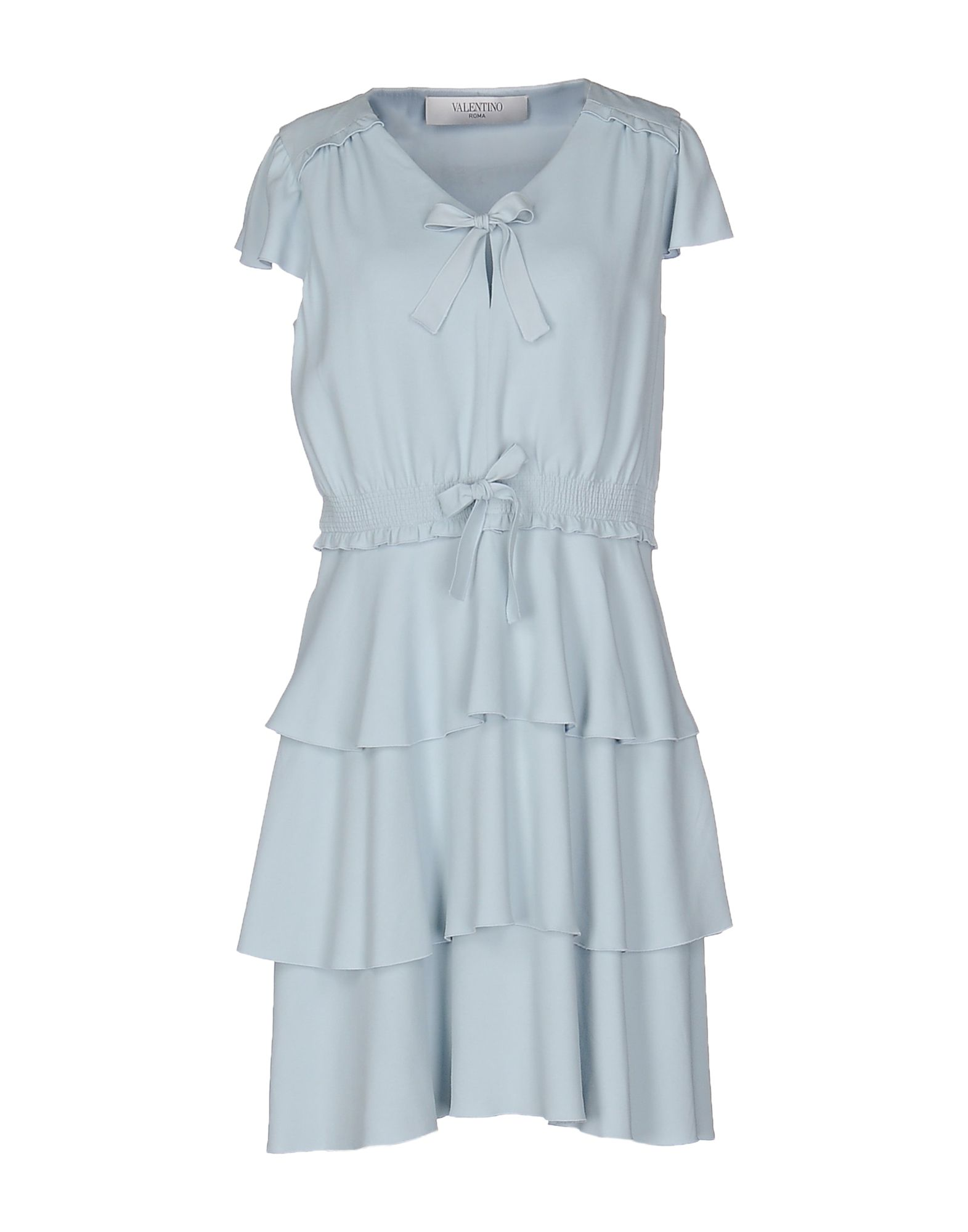 VALENTINO ROMA Короткое платье юбка valentino roma юбки мини короткие