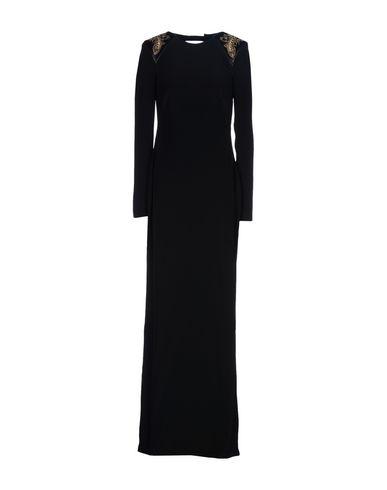 Длинное платье размер 42 цвет черный