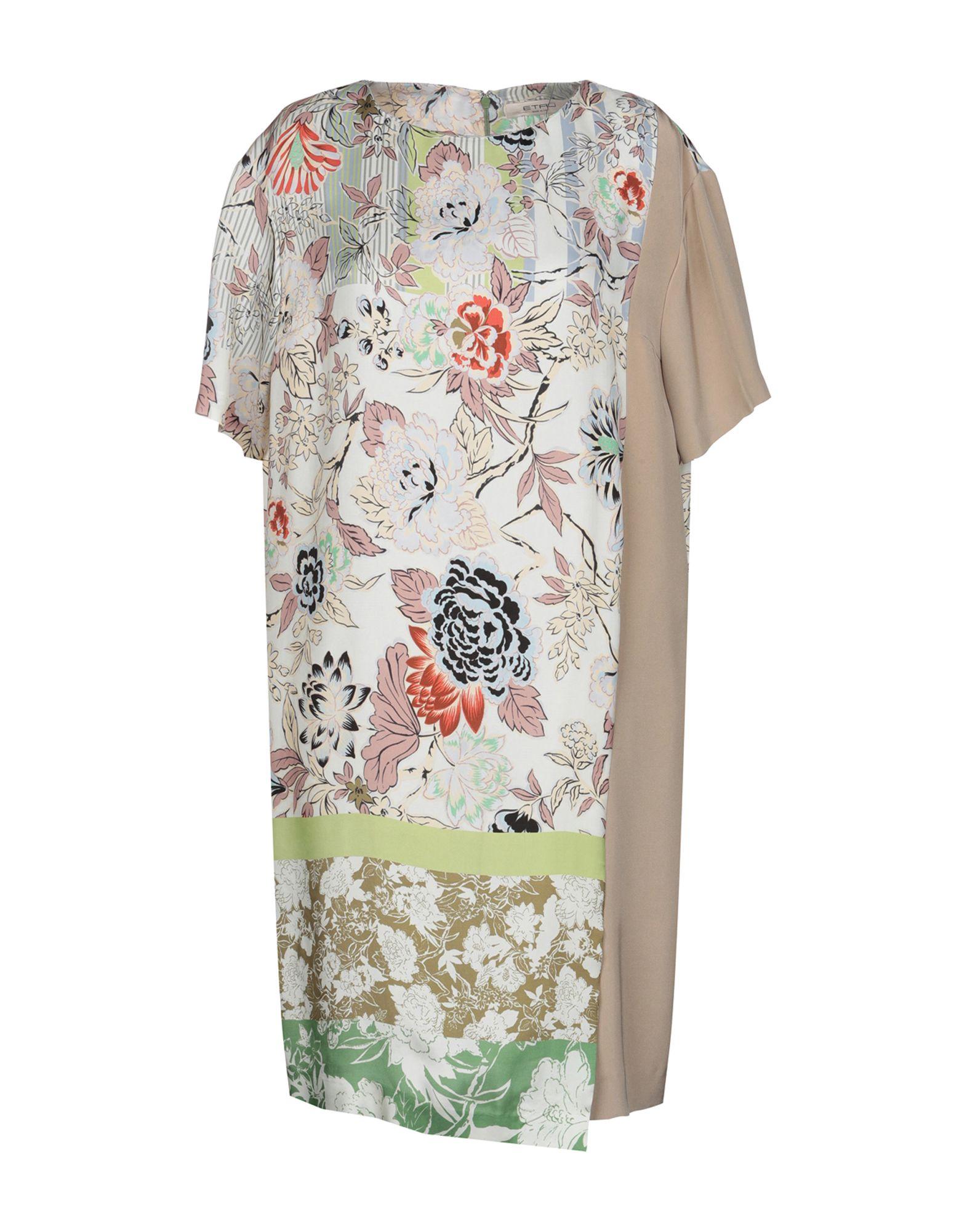ETRO Короткое платье гипюровое платье