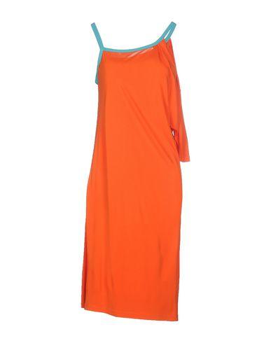 Фото - Платье до колена от WHO*S WHO оранжевого цвета