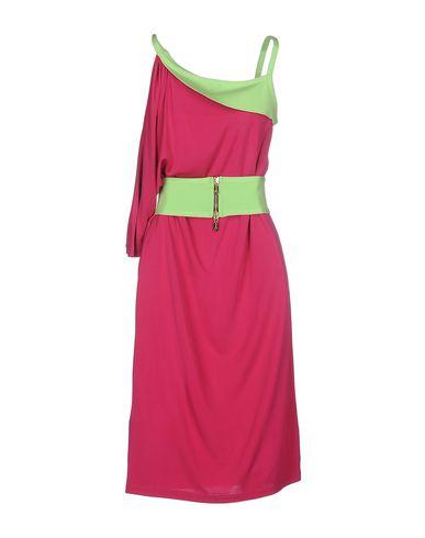 Фото 2 - Платье до колена от WHO*S WHO цвета фуксия