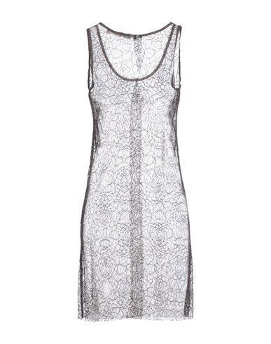 Фото 2 - Женское короткое платье JUCCA свинцово-серого цвета