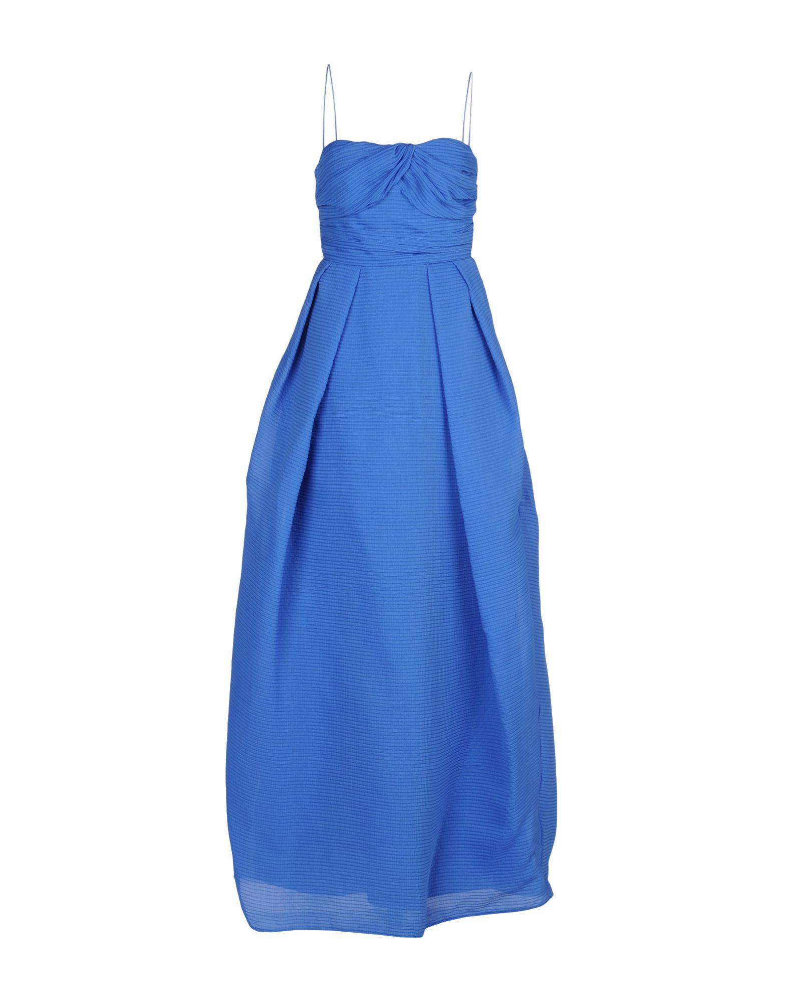 CARVEN Длинное платье цена 2017